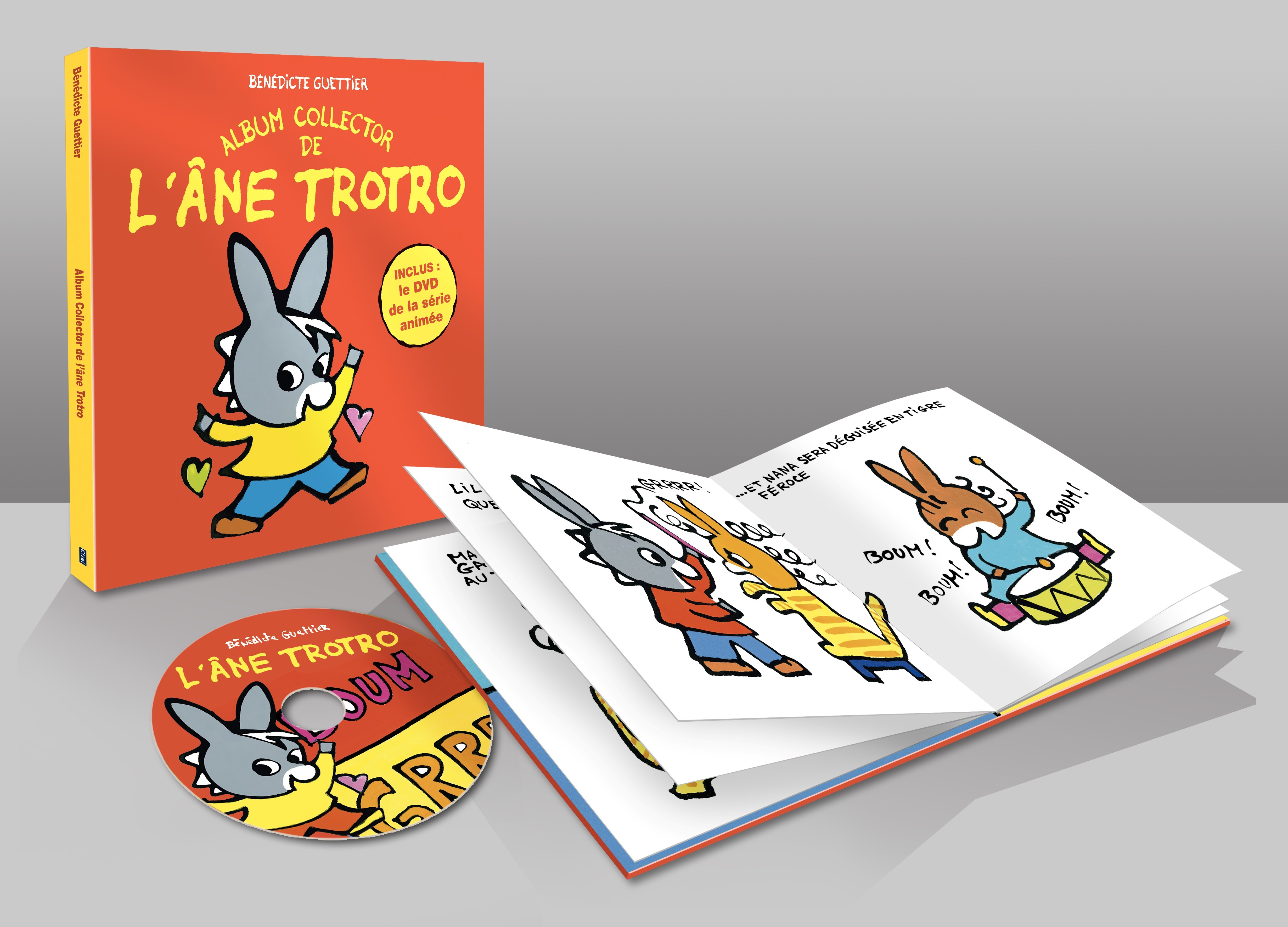 L'ANE TROTRO : 3 HISTOIRES + 1 DVD