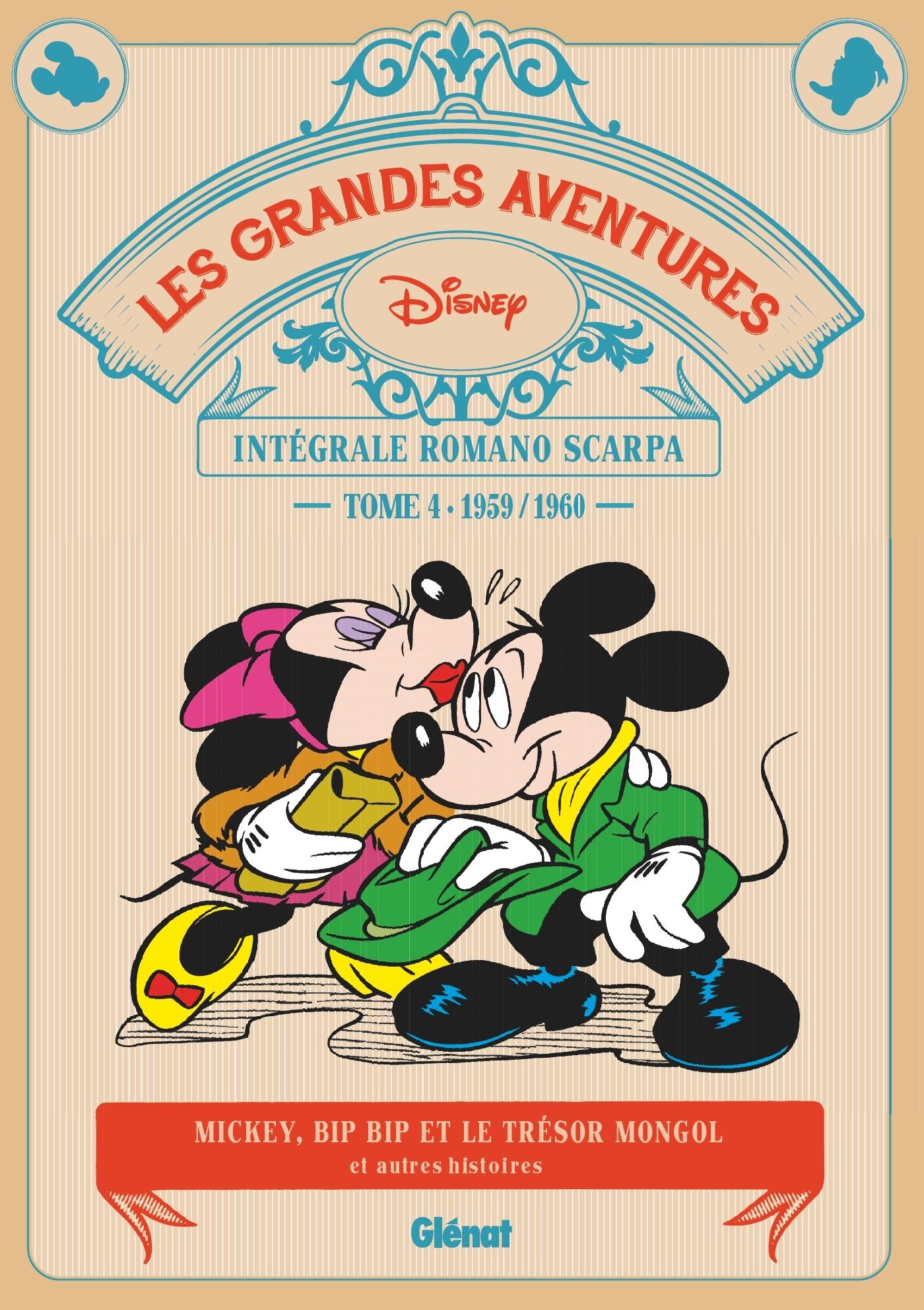 LES GRANDES AVENTURES DE ROMANO SCARPA - TOME 04 - 1959/1960 - LE TRESOR MONGOL ET AUTRES HISTOIRES