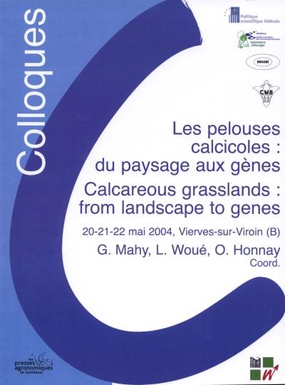 LES PELOUSES CALCICOLES : DU PAYSAGE AUX GENES