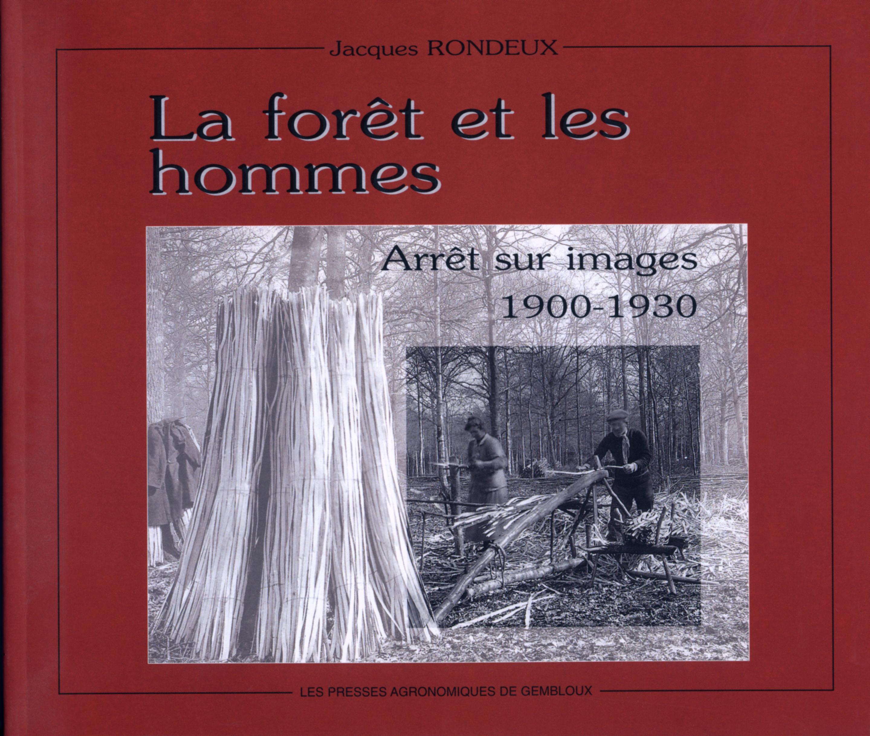 LA FORET ET LES HOMMES ARRET SUR IMAGES19001930
