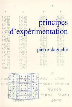 PRINCIPES D'EXPERIMENTATION