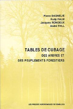 TABLES DE CUBAGE, DES ARBRES ET DES PEUPLEMENTS FORESTIERS (2. ED.)