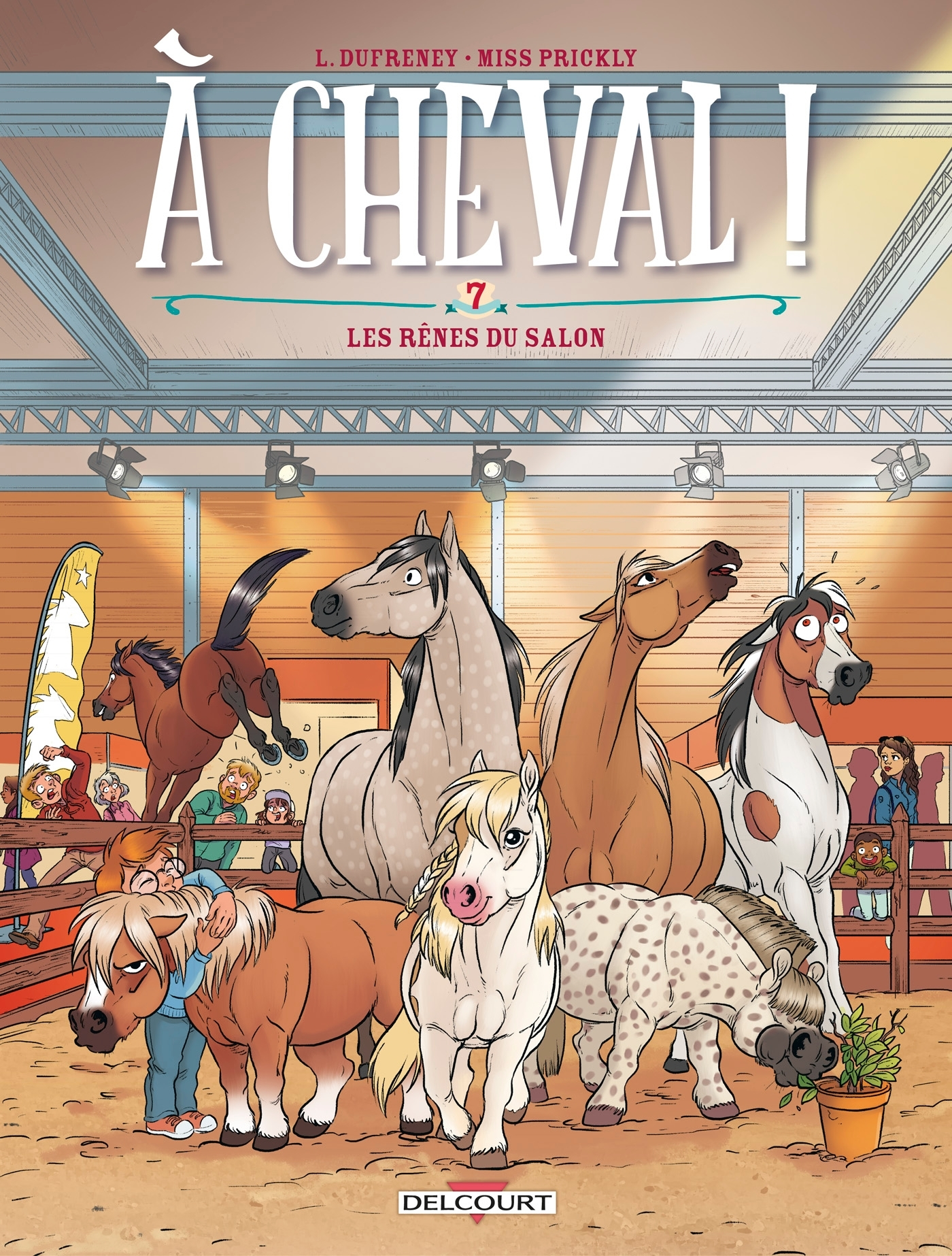 A CHEVAL ! T07 - LES RENES DU SALON