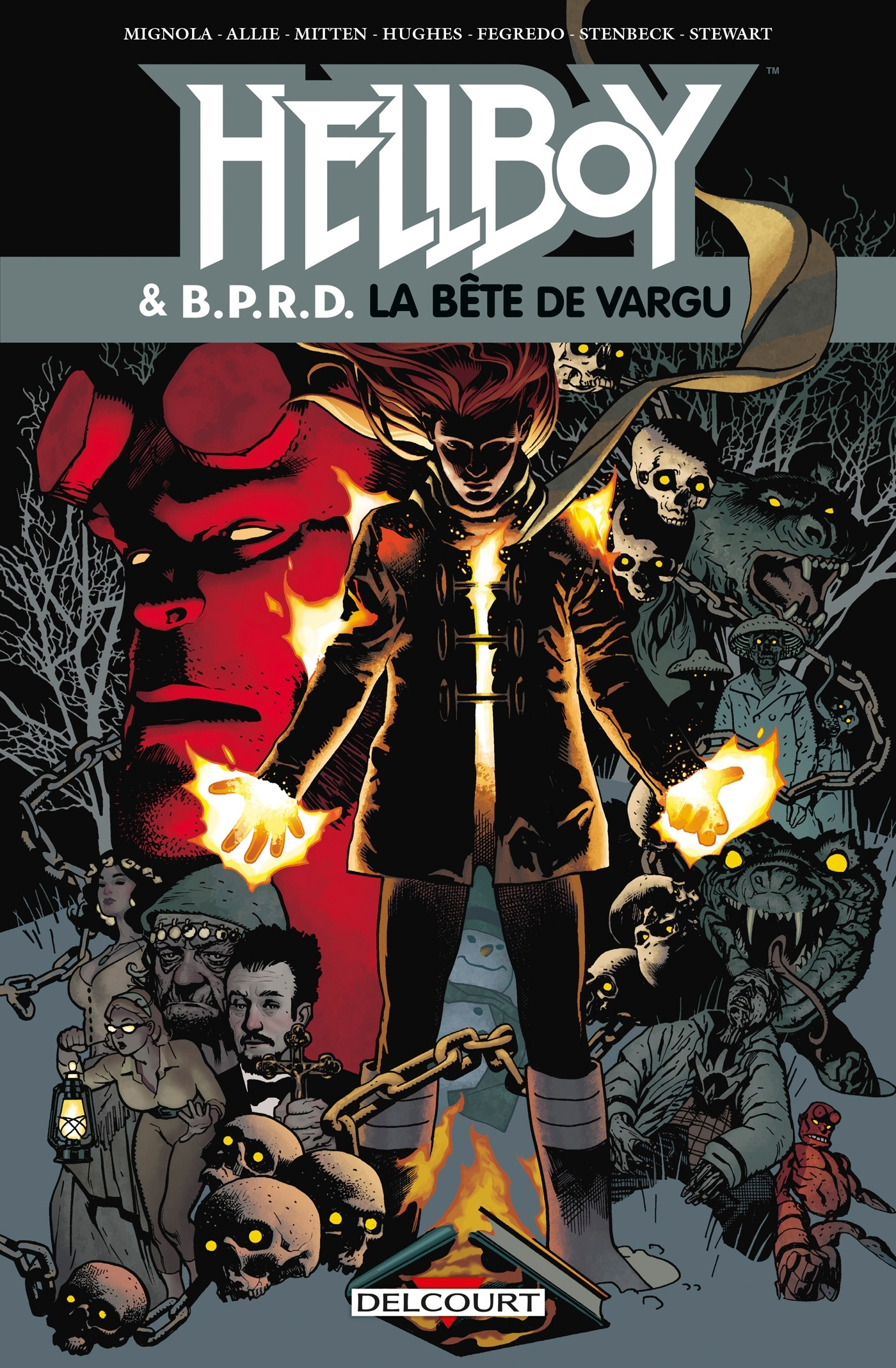 HELLBOY AND BPRD T06 - LA BETE DE VARGU