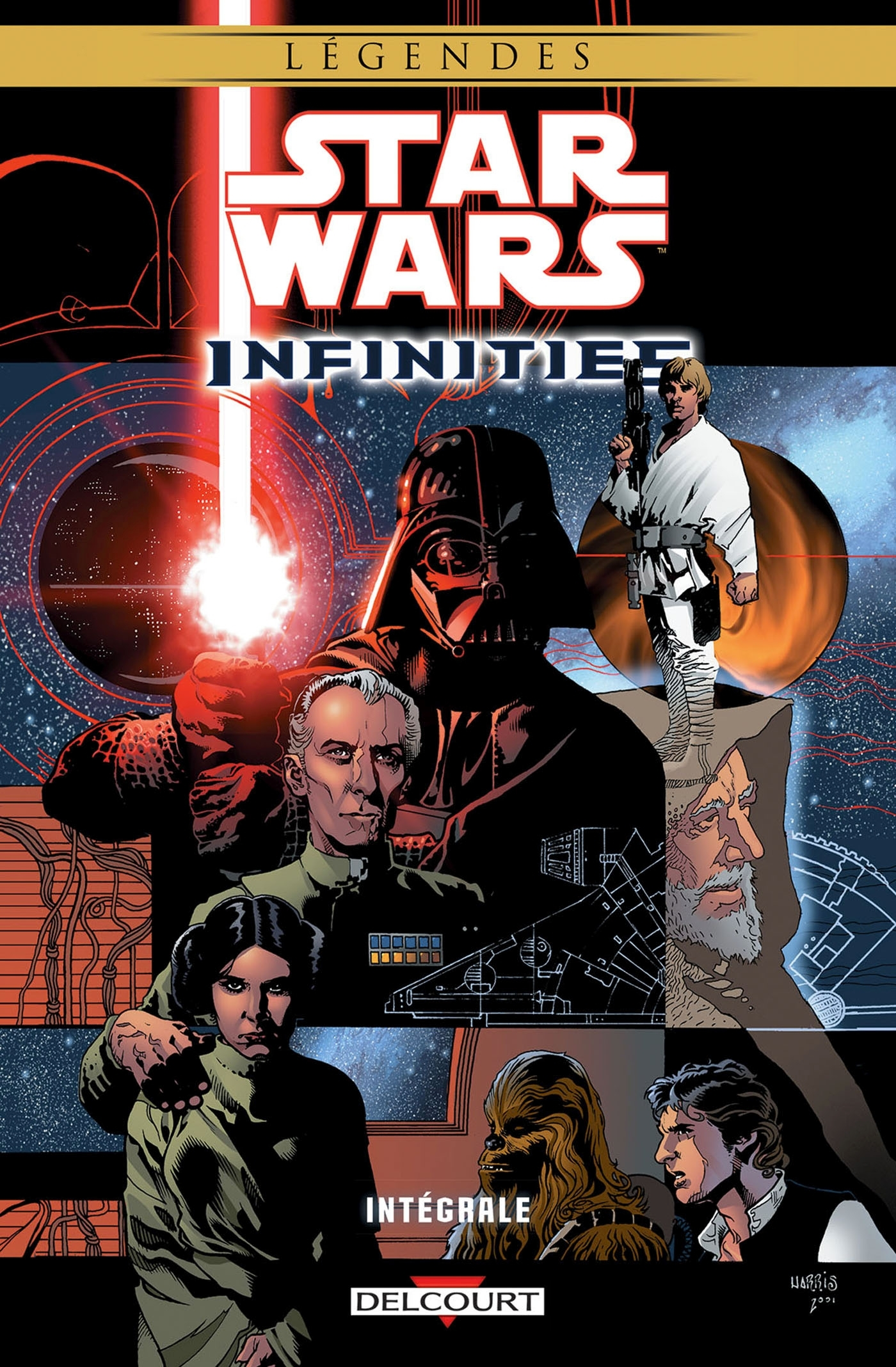 STAR WARS - INFINITIES - STAR WARS INFINITIES - INTEGRALE
