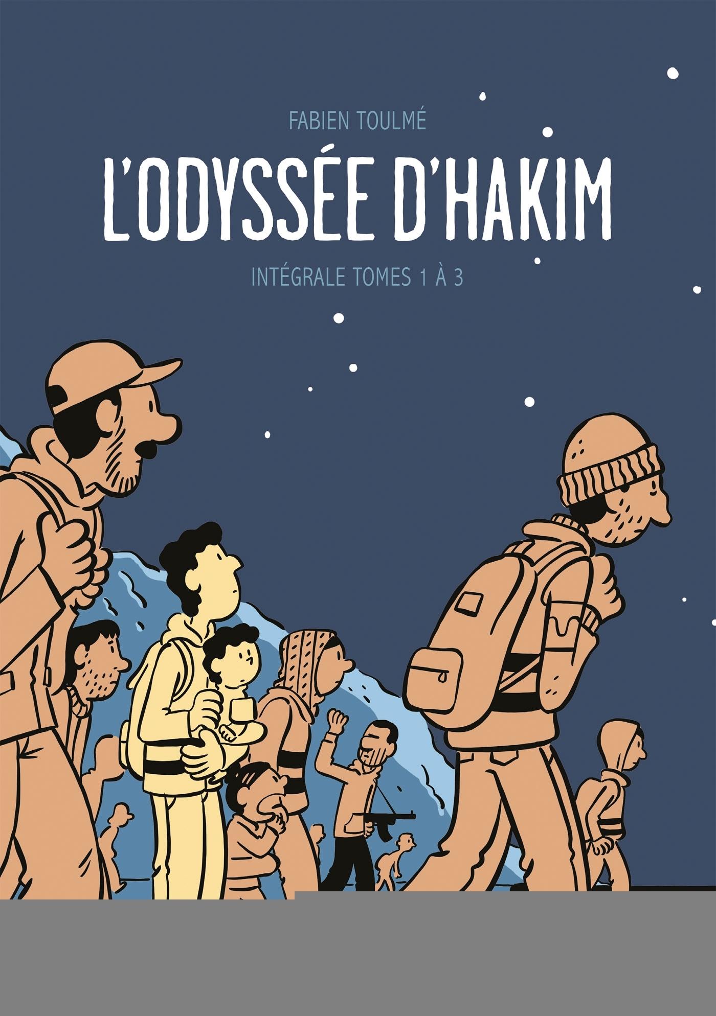 L'ODYSSEE D'HAKIM - ODYSSEE D'HAKIM - COFFRET T1 A T3