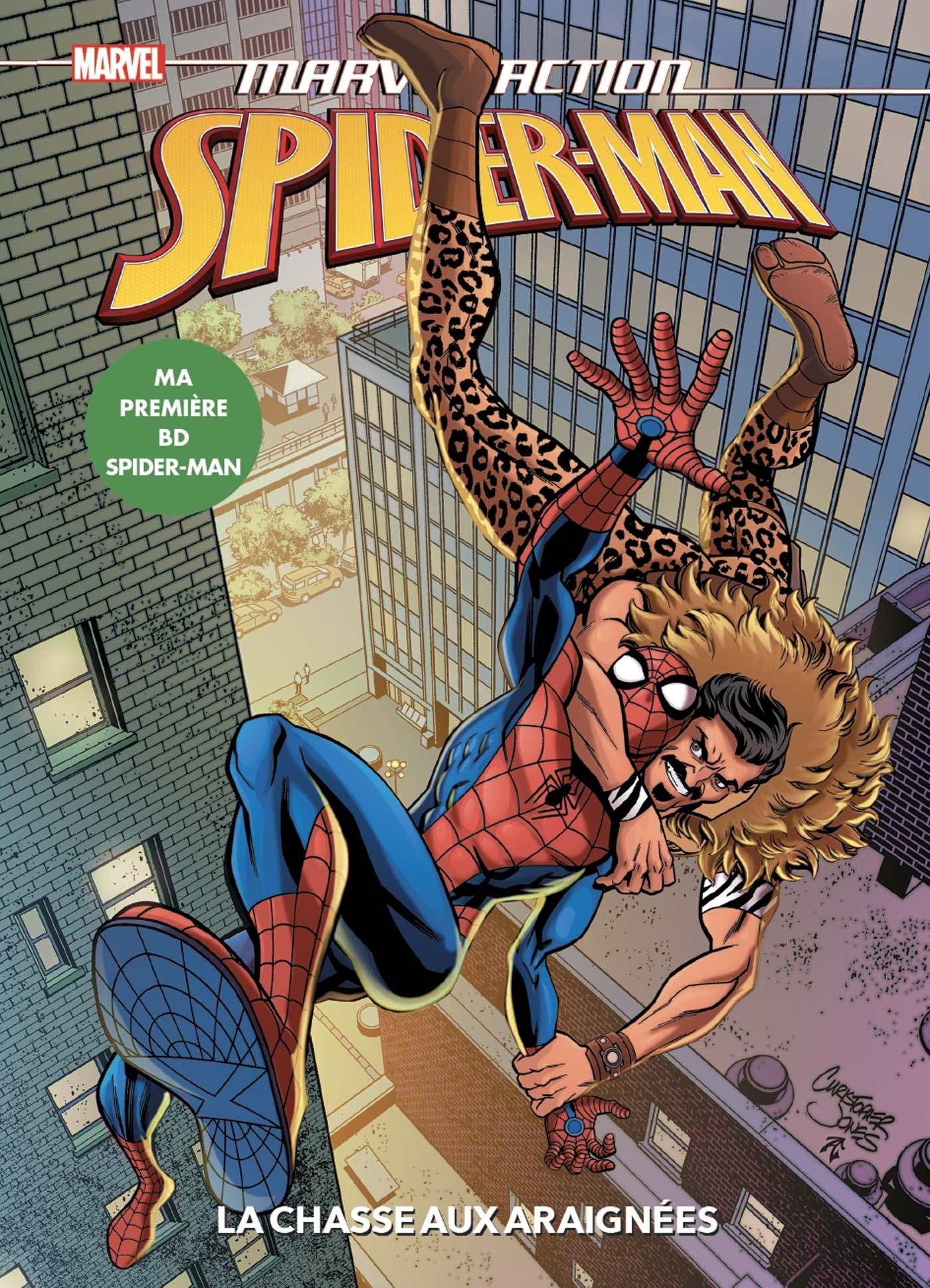 MARVEL ACTION - SPIDER-MAN : LA CHASSE AUX ARAIGNEES