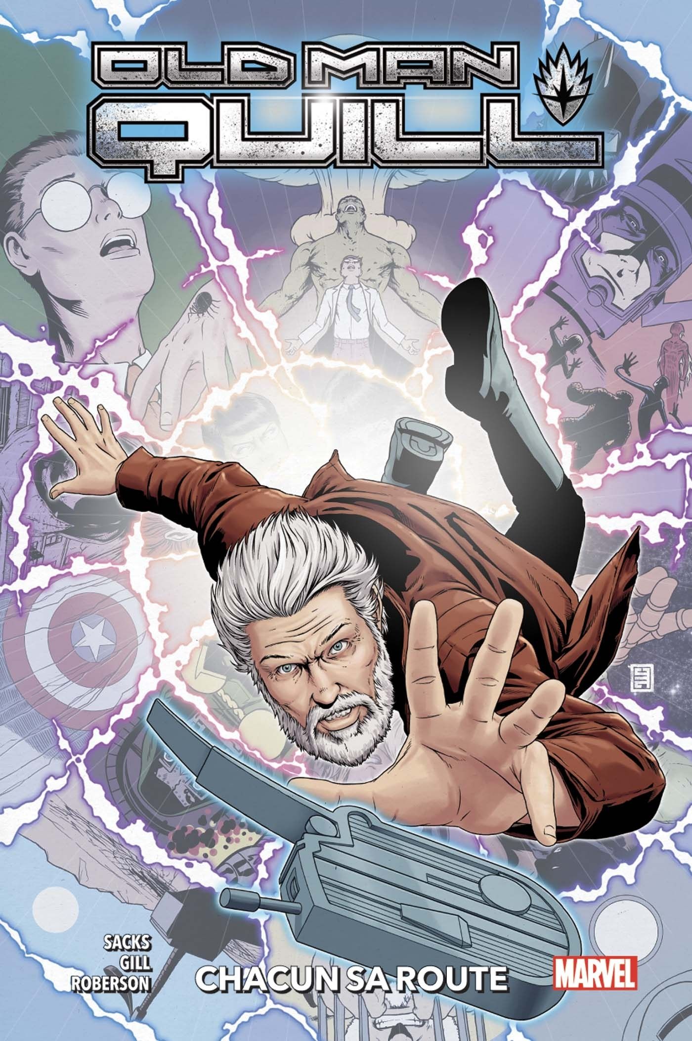 OLD MAN QUILL T02: CHACUN SA ROUTE