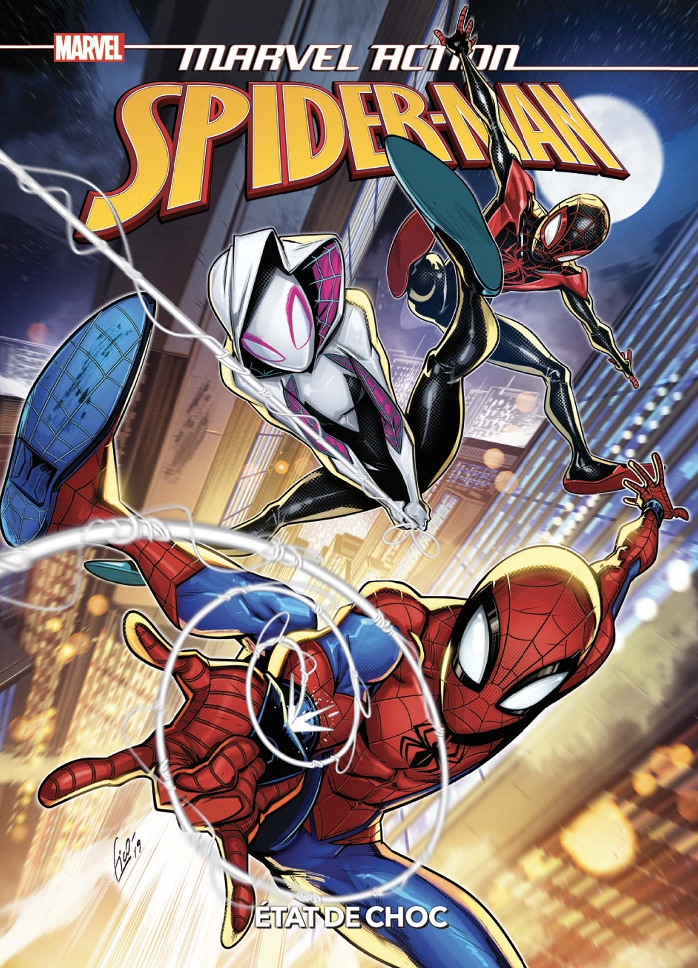 MARVEL ACTION - SPIDER-MAN: ETAT DE CHOC