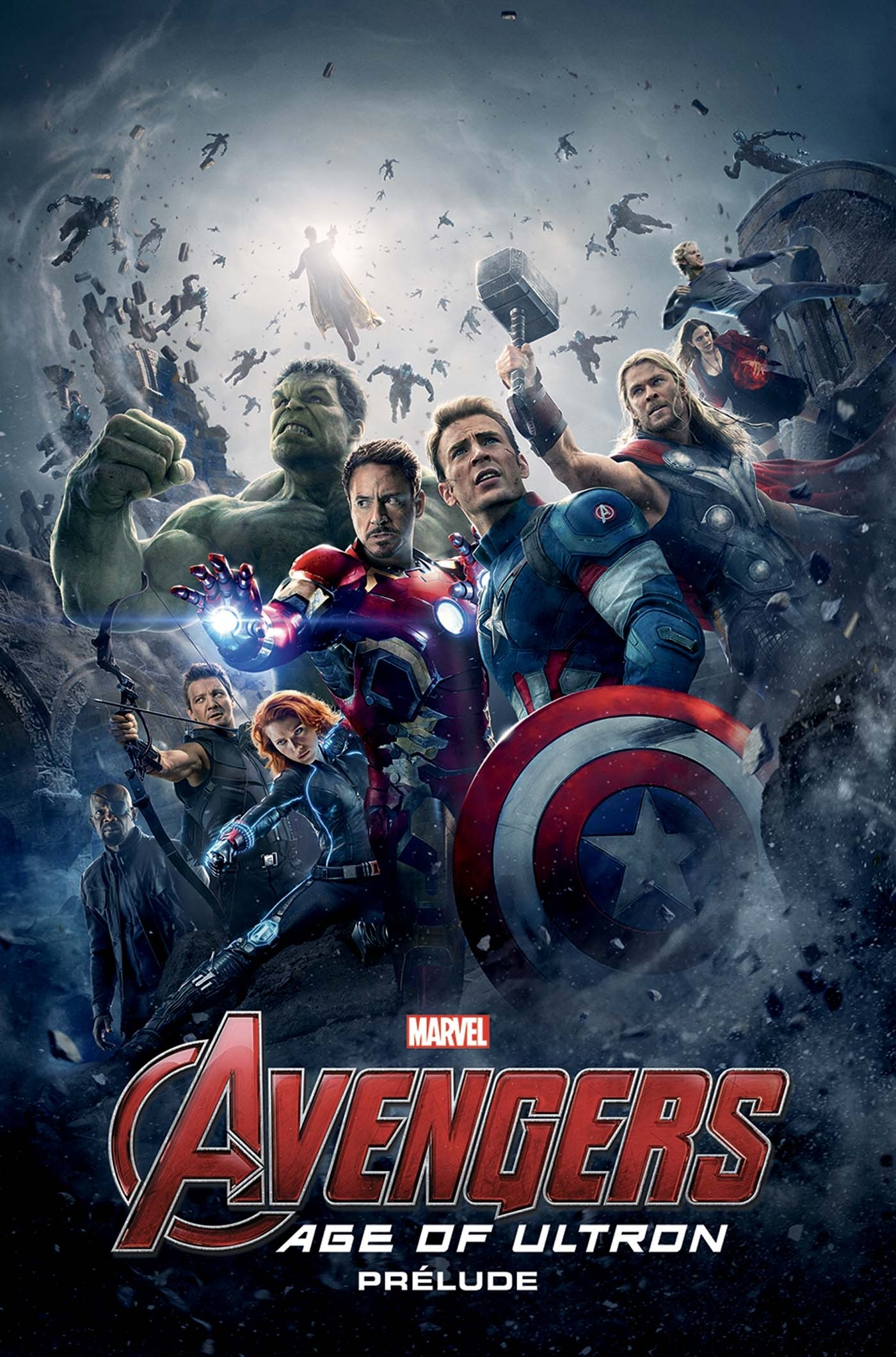 AVENGERS AGE OF ULTRON: PRELUDE