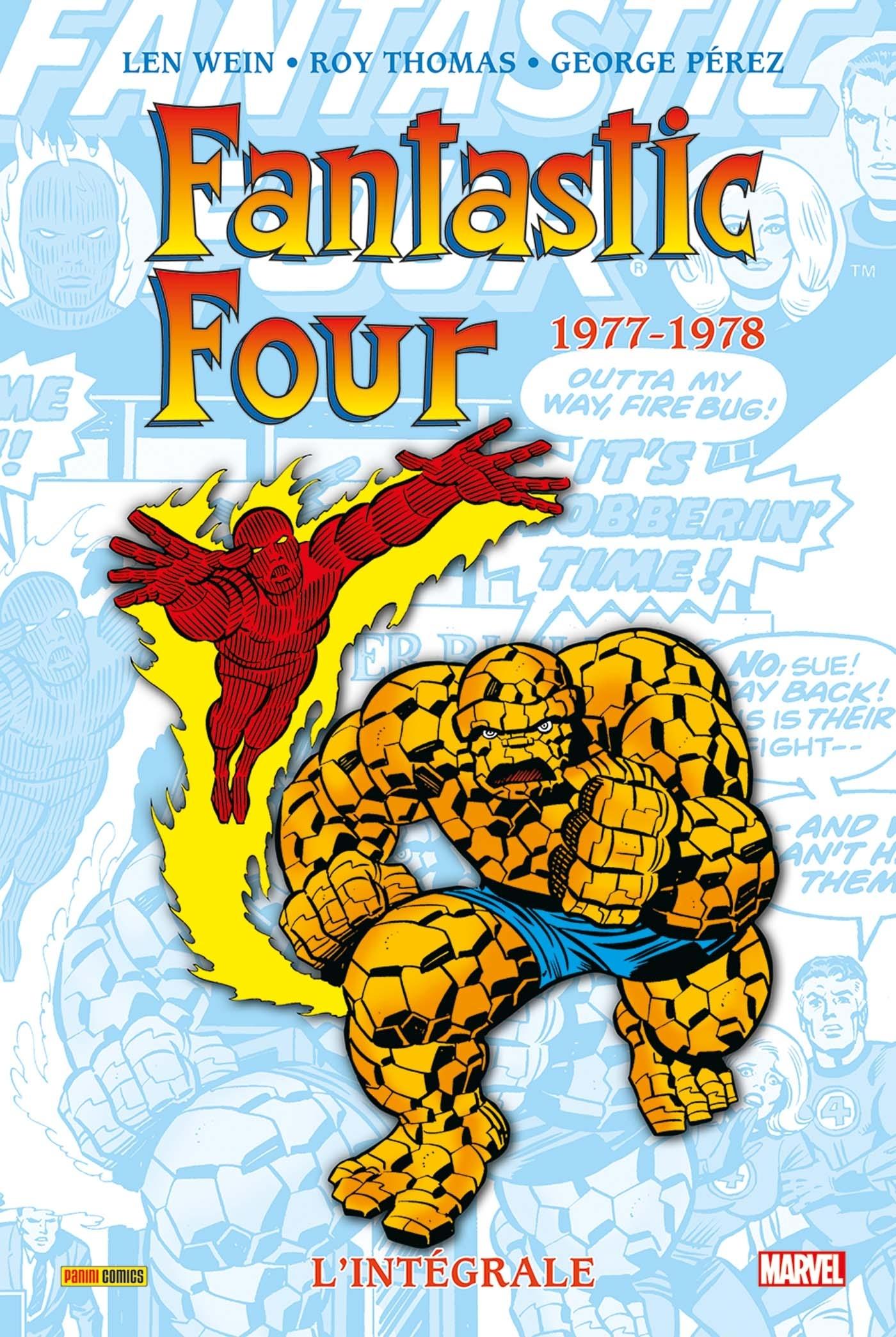 FANTASTIC FOUR : L'INTEGRALE 1977-1978