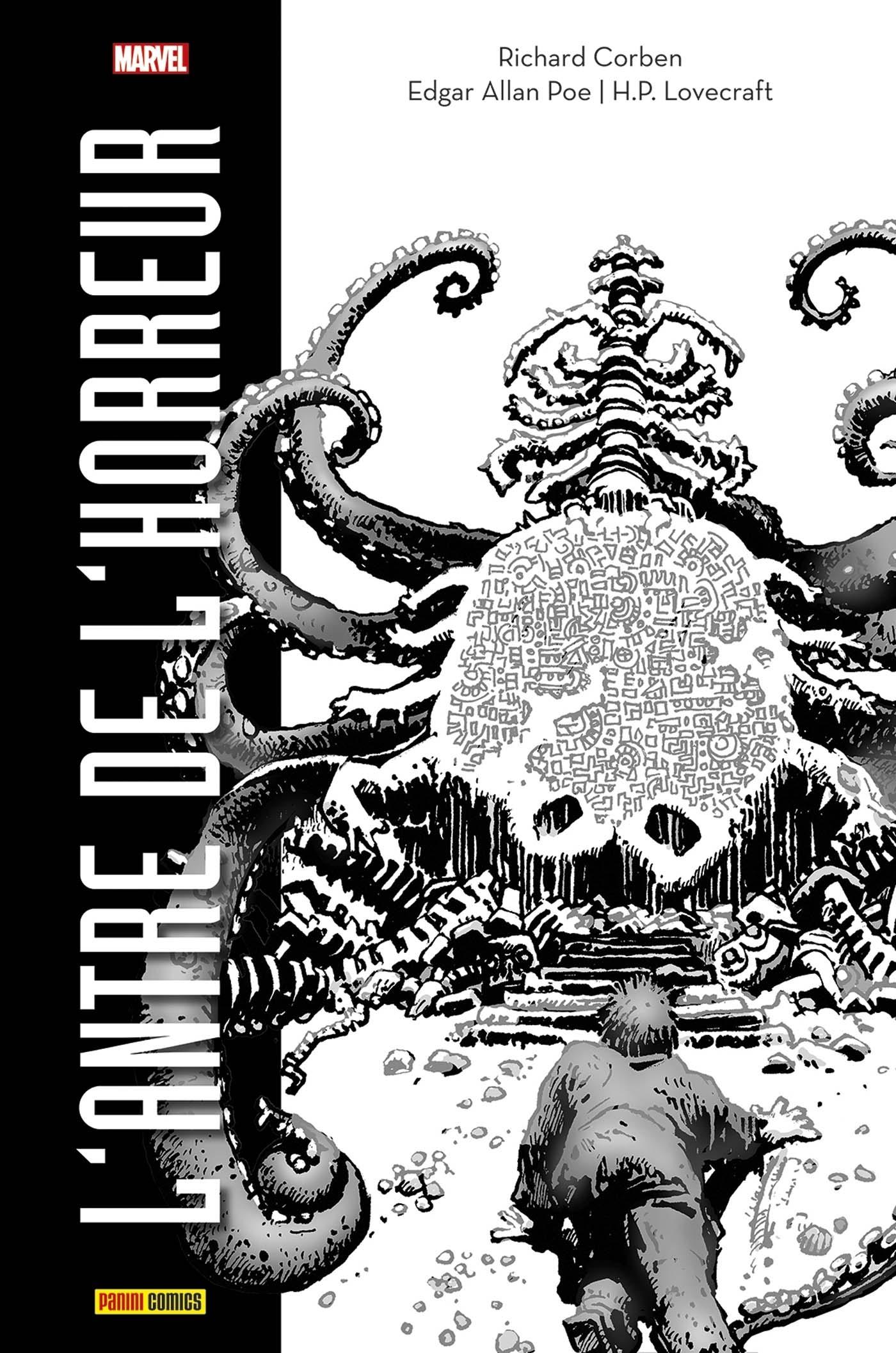 L'ANTRE DE L'HORREUR (ED. N&B)