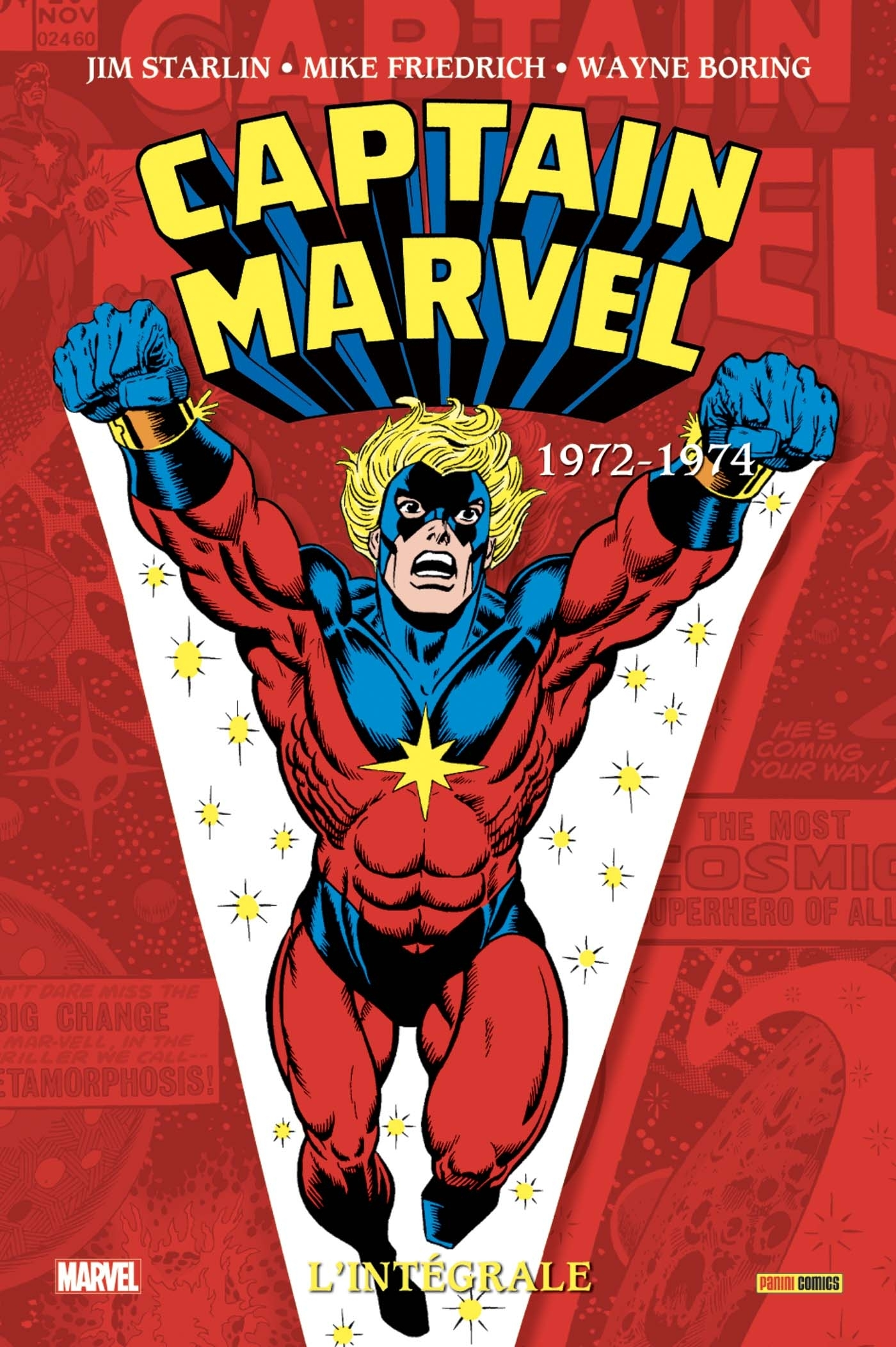 CAPTAIN MARVEL: L'INTEGRALE 1972-1974