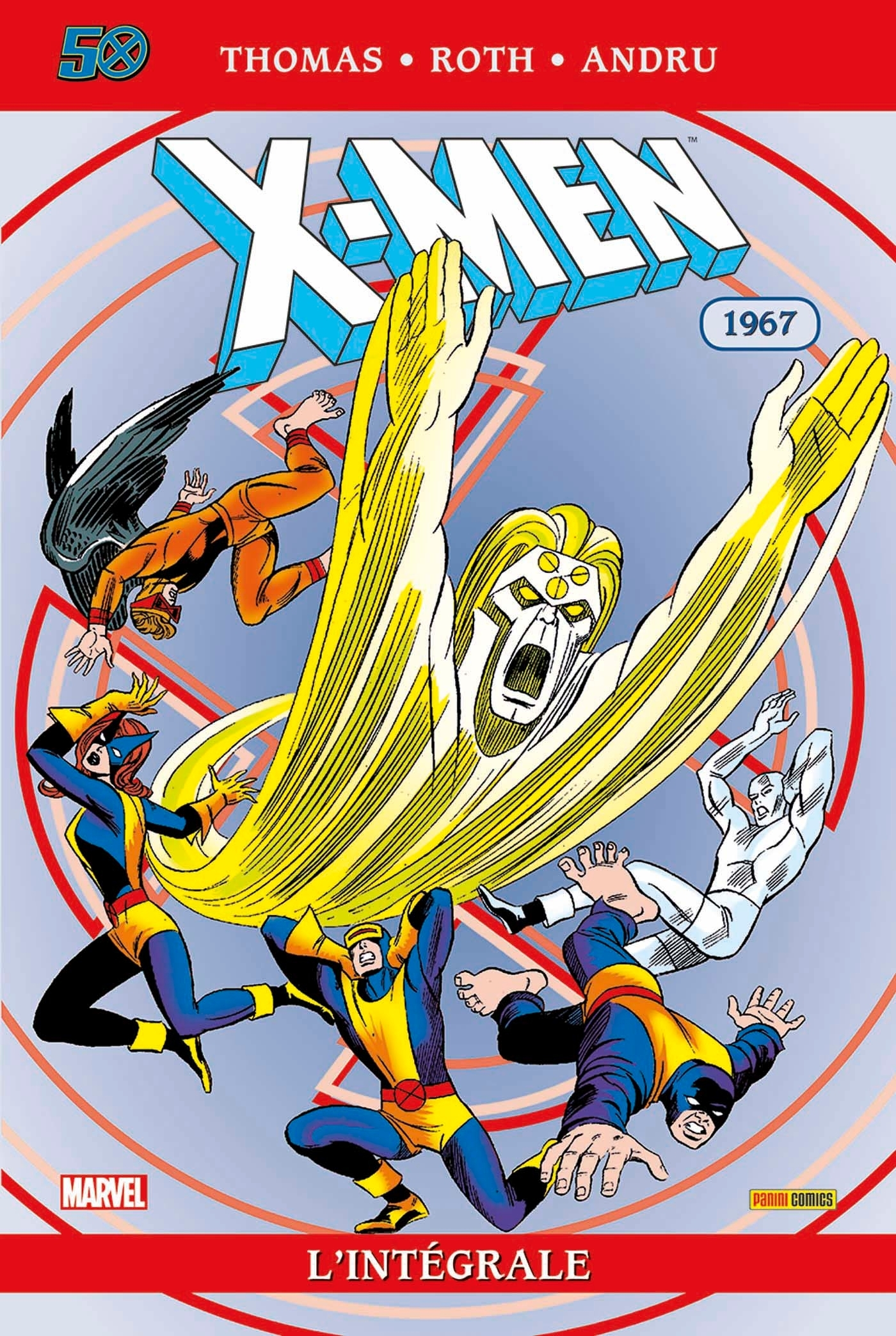 L INTEGRALE: X-MEN T17 (1967) + ETUI