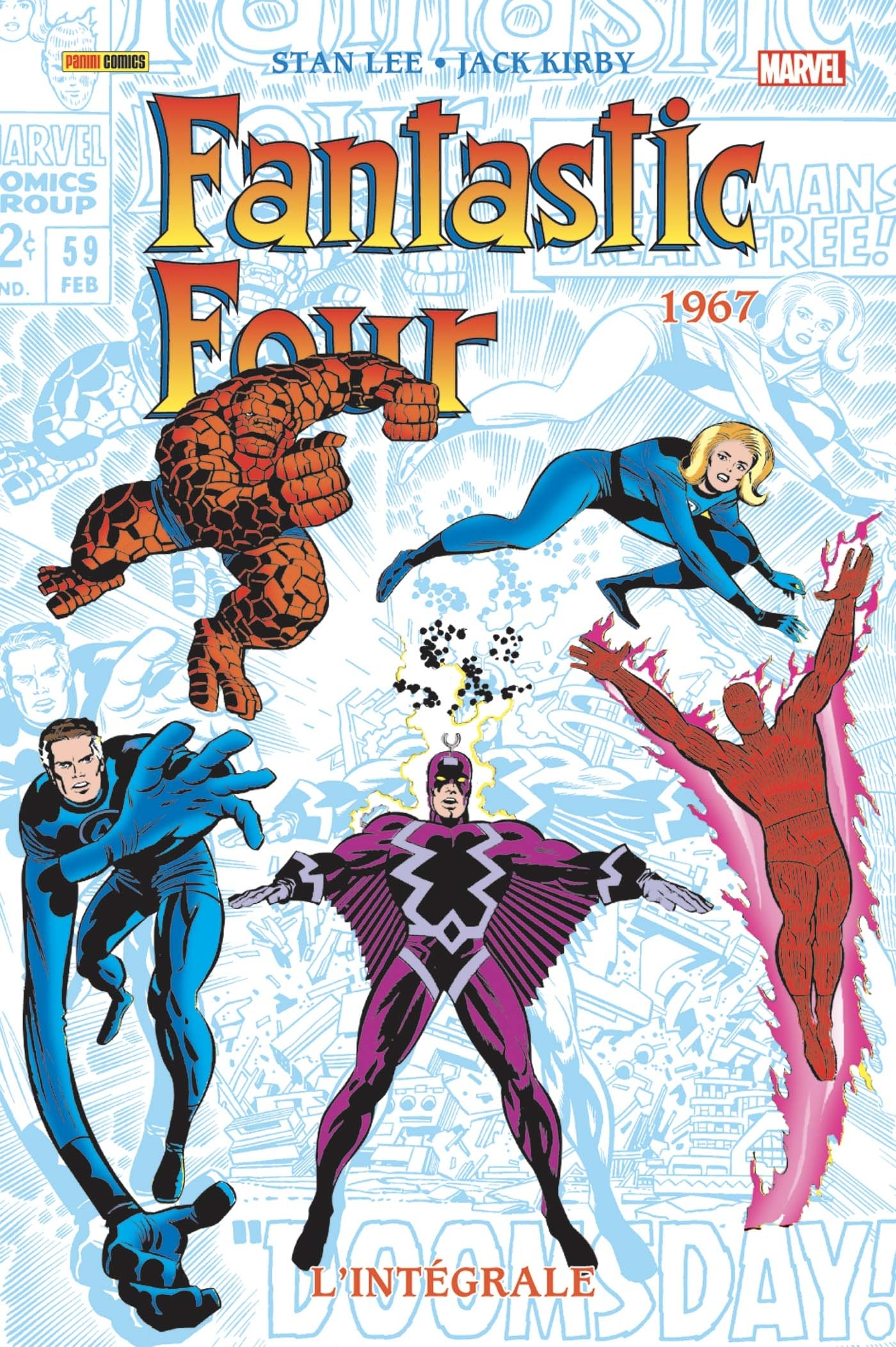 FANTASTIC FOUR : L'INTEGRALE 1967 (NOUVELLE EDITION)