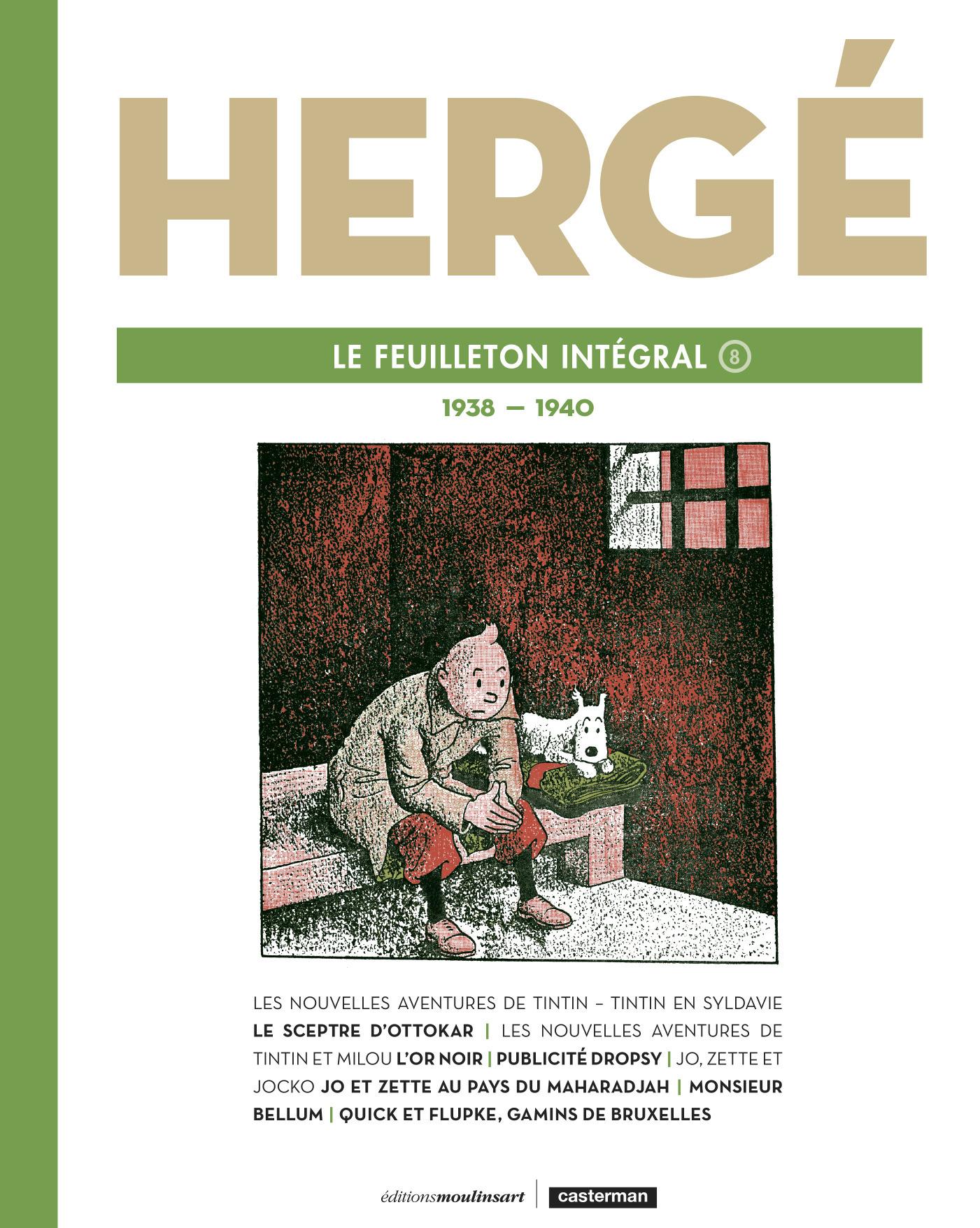 HERGE, LE FEUILLETON INTEGRAL - 1938 - 1940