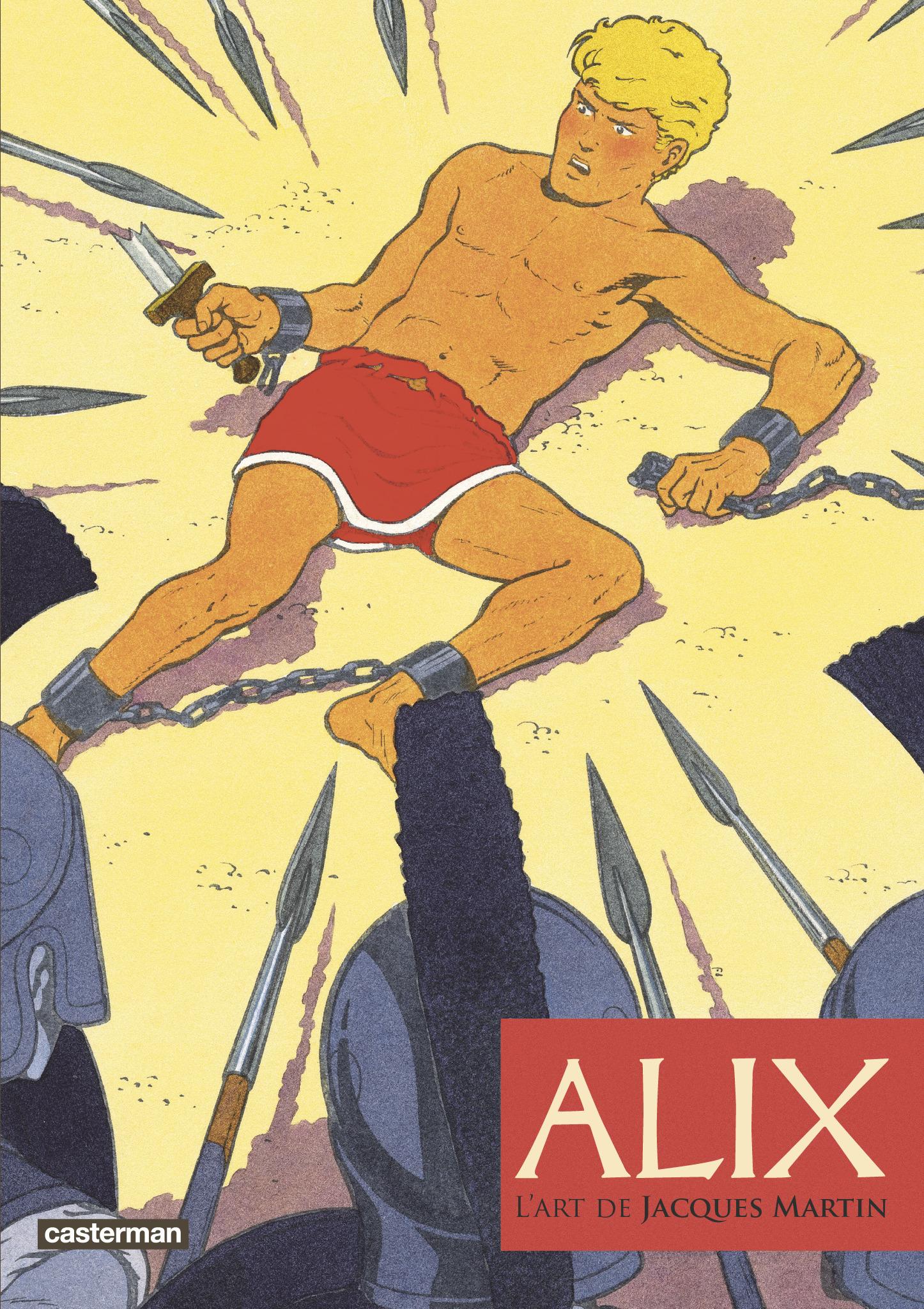 ALIX, L'ART DE JACQUES MARTIN