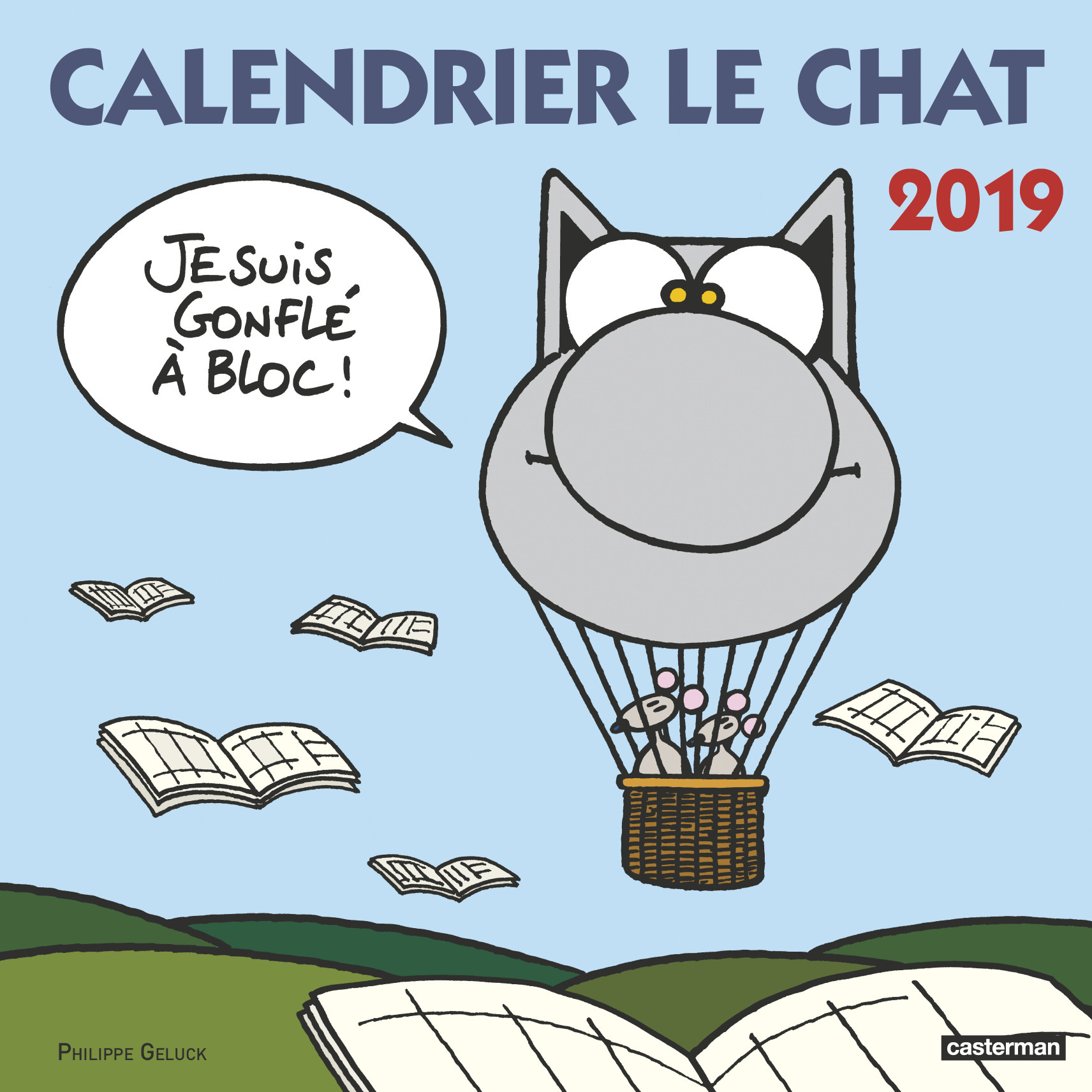 PAPETERIE - CALENDRIER LE CHAT 2019