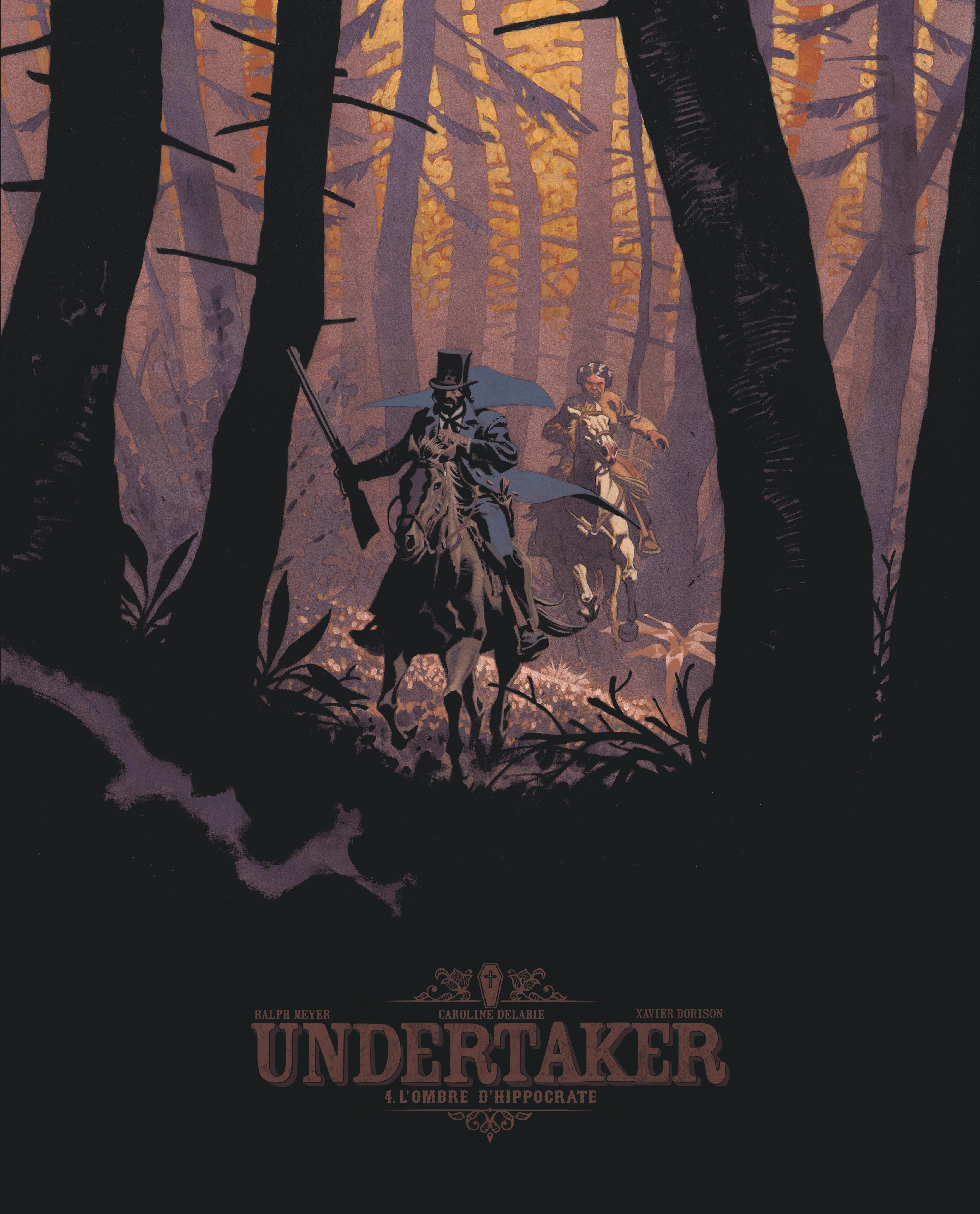 UNDERTAKER - TOME 4 - L'OMBRE D'HIPPOCRATE - EDITION BIBLIOPHILE