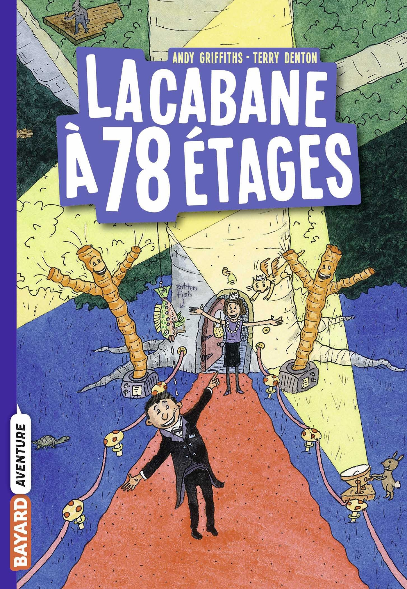 LA CABANE A 13 ETAGES, TOME 06 - LA CABANE A 78 ETAGES POCHE