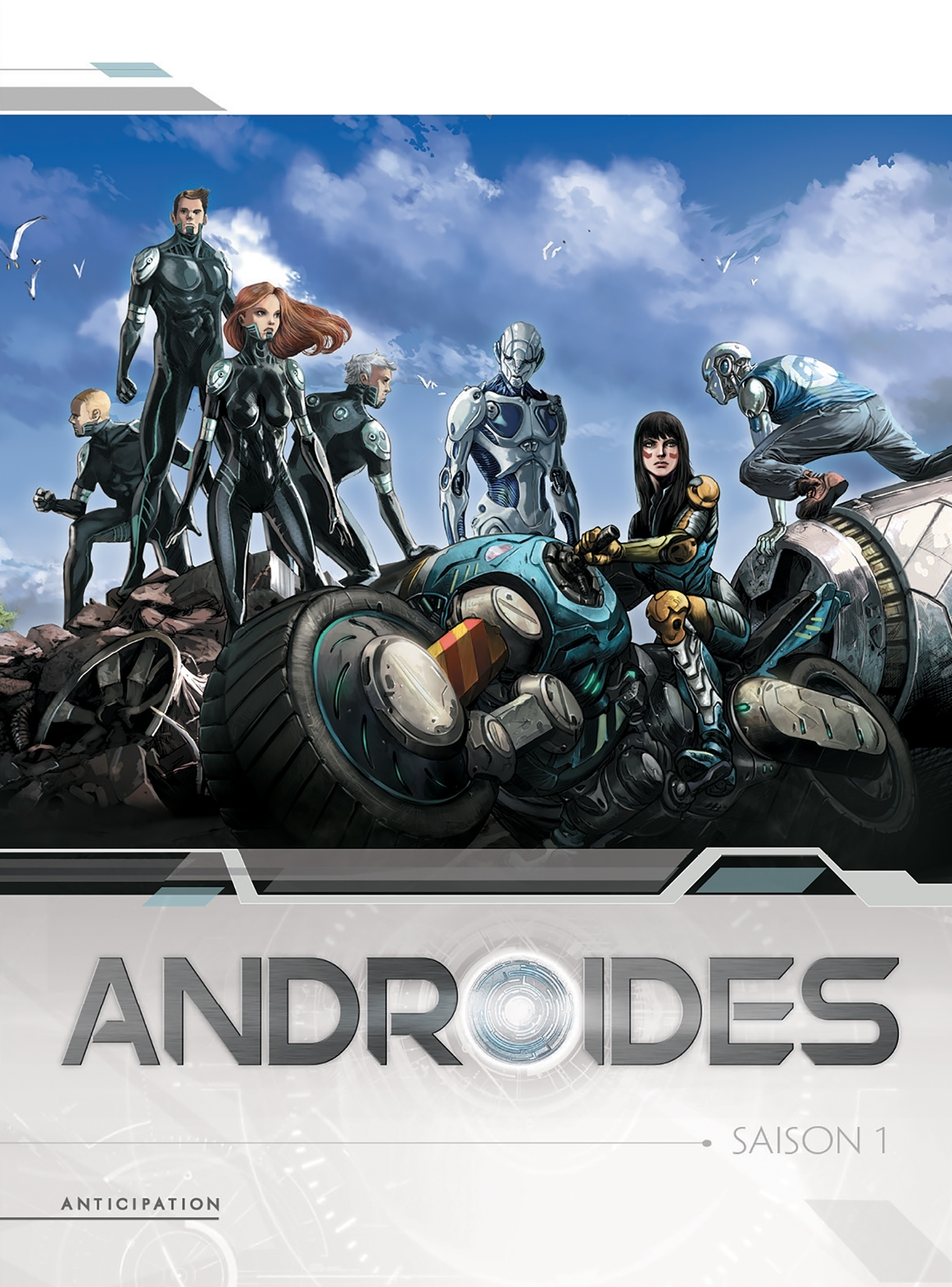 ANDROIDES - COFFRET T1 A T4