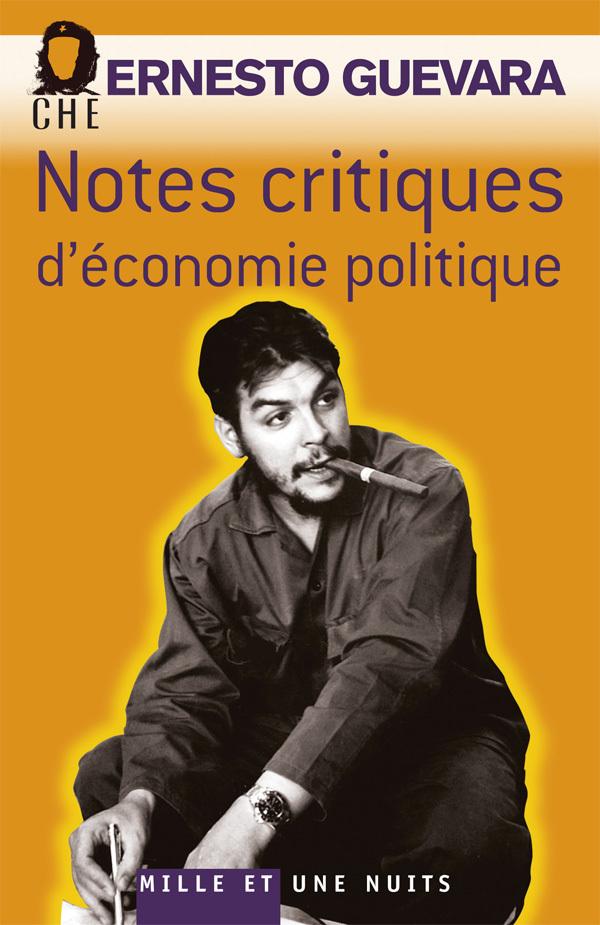 NOTES CRITIQUES D'ECONOMIE POLITIQUE