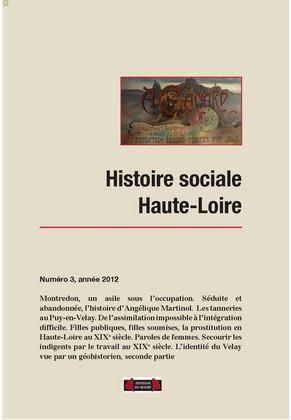 HISTOIRE SOCIALE HAUTE-LOIRE, NUMERO 3
