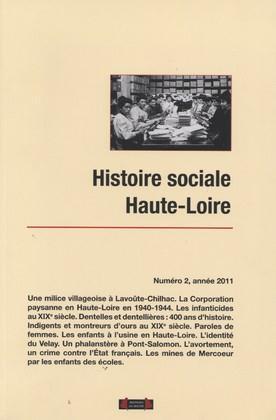 HISTOIRE SOCIALE HAUTE-LOIRE, NUMERO 2