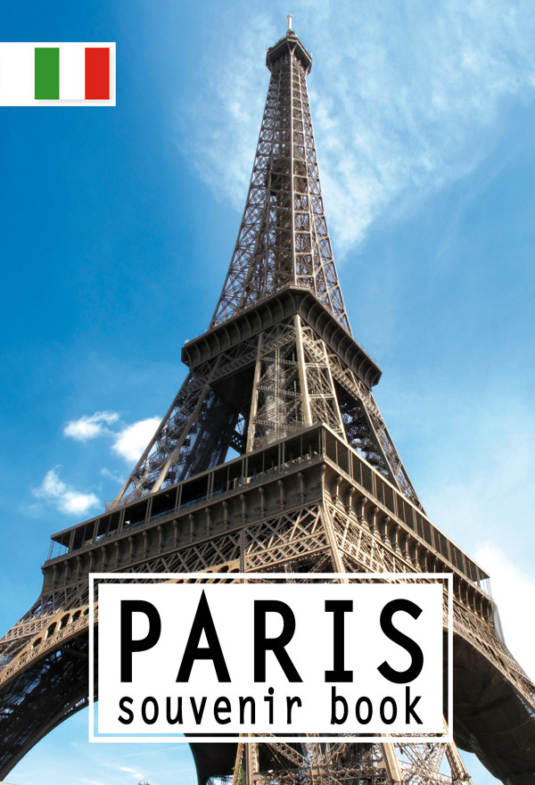 PARIS SOUVENIR BOOK ITALIEN