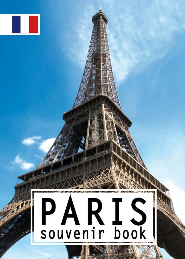 PARIS SOUVENIR BOOK FRANCAIS
