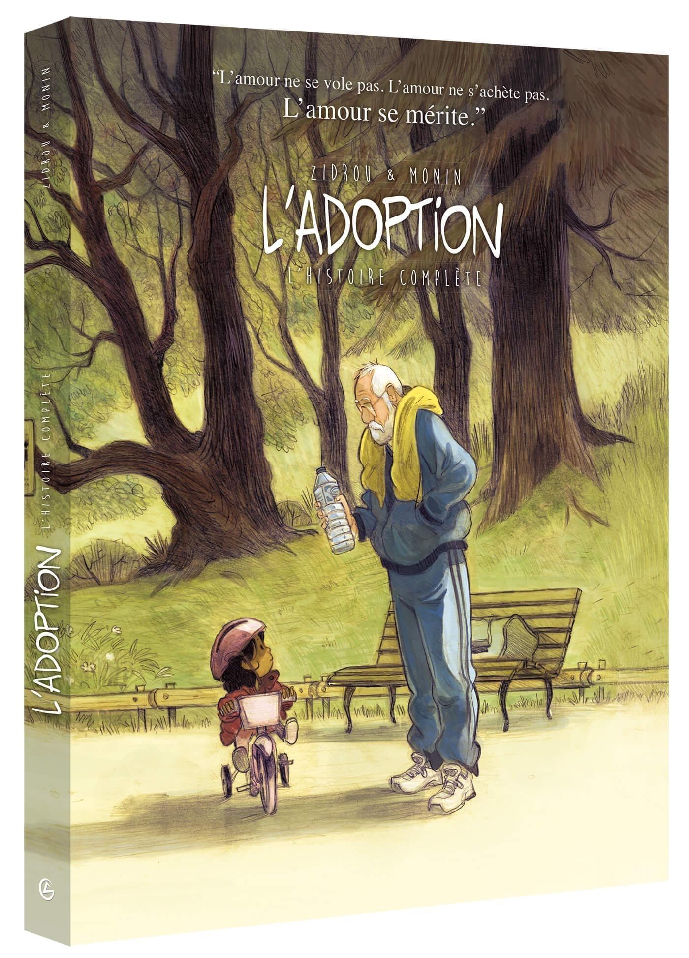 L'ADOPTION - ECRIN COLLECTOR TOME 1 TOME 2