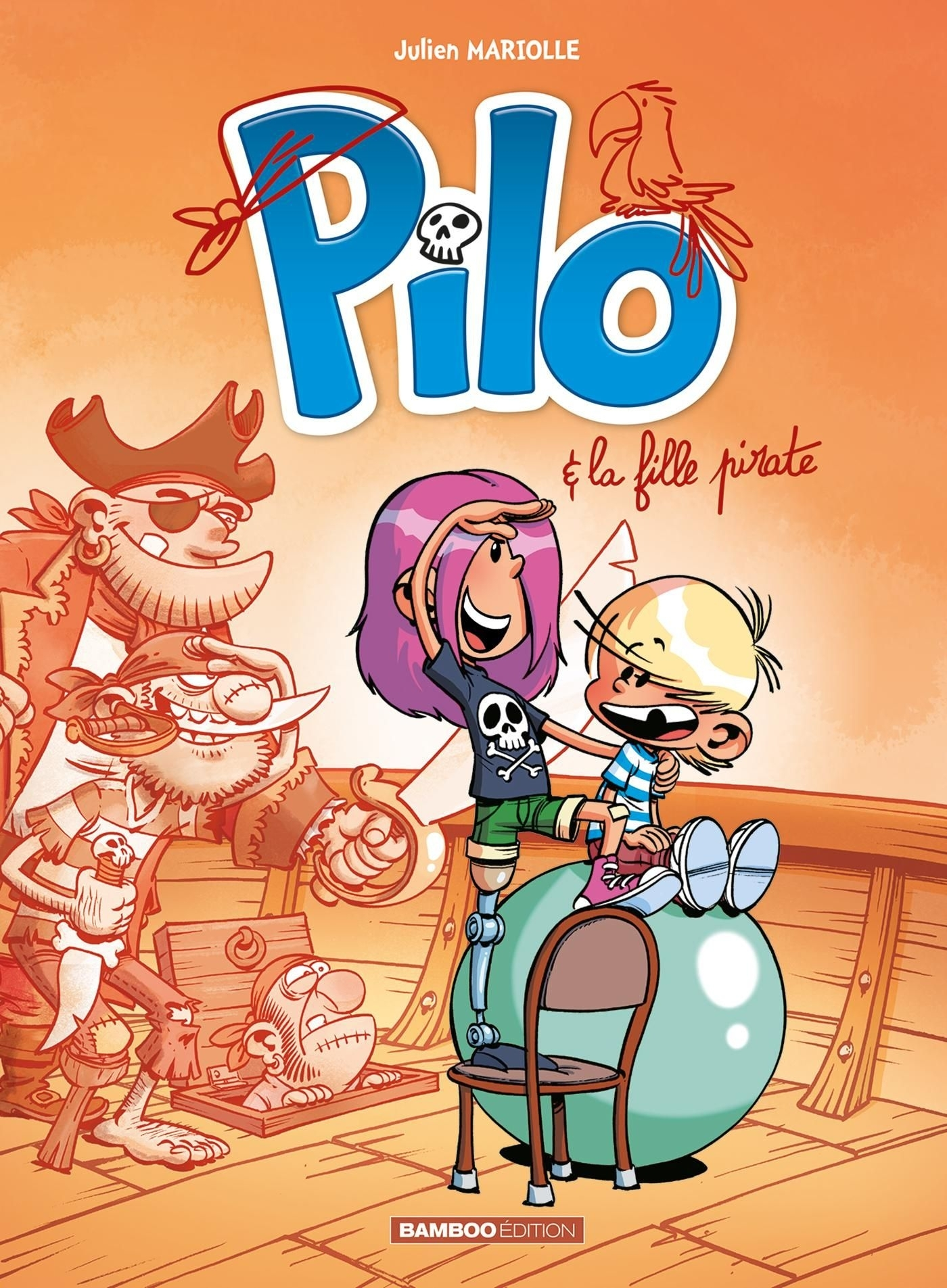 PILO - TOME 04 - PILO ET LA FILLE PIRATE