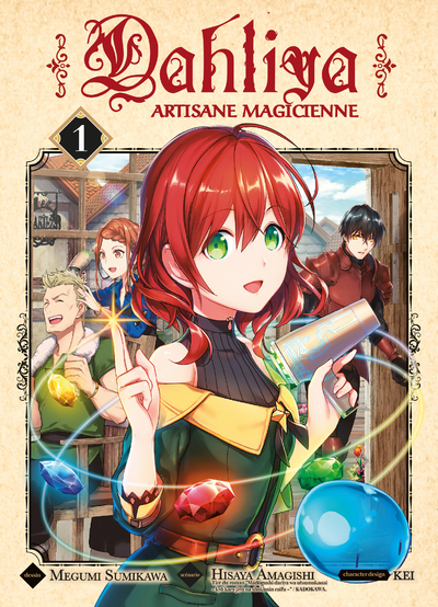 DAHLIYA, ARTISANE MAGICIENNE T01 - VOL01