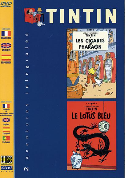 LES CIGARES DU PHARAON - LE LOTUS BLEU