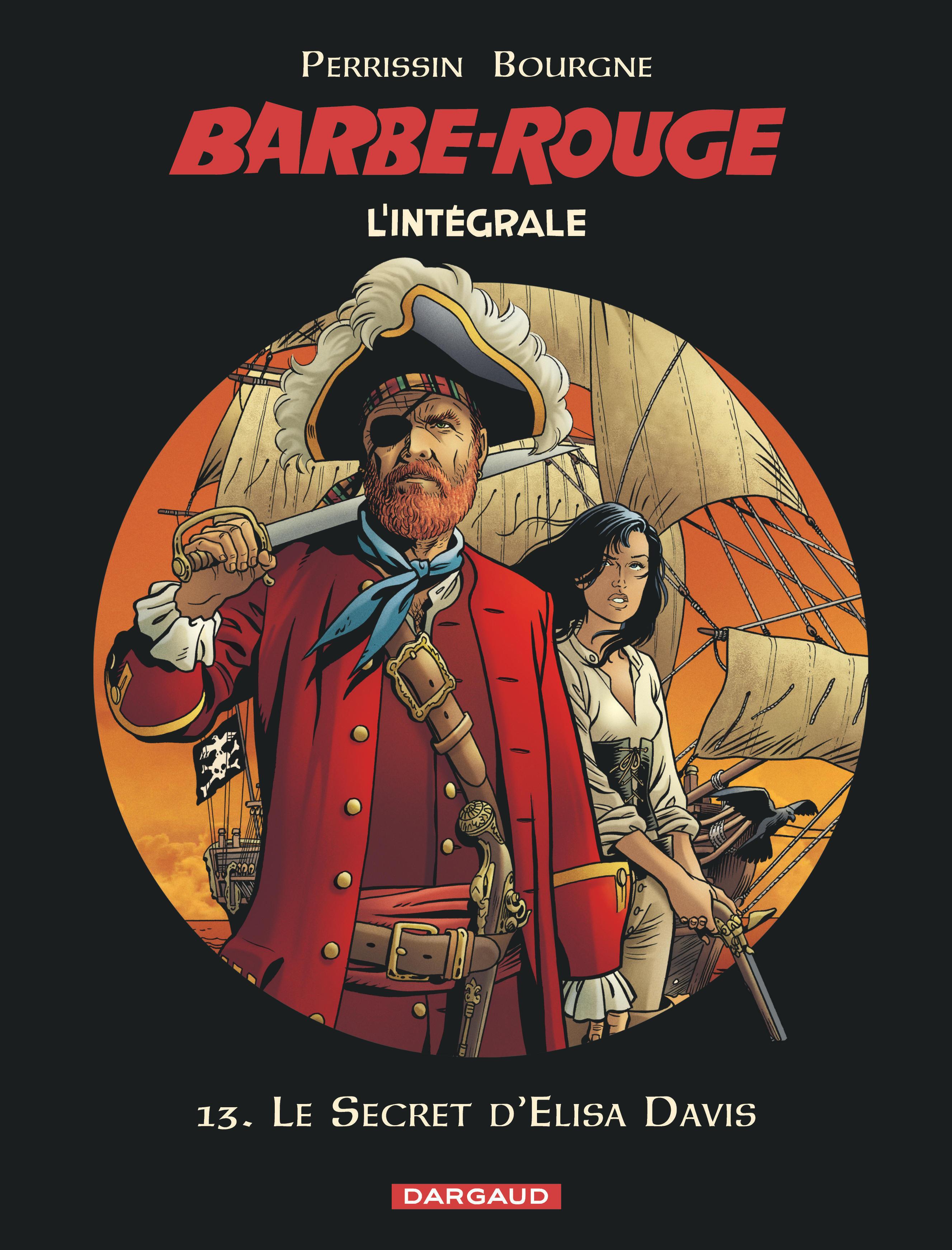 BARBE ROUGE (INTEGRALE) - BARBE-ROUGE - INTEGRALES - TOME 13 - LE SECRET D'ELISA DAVIS