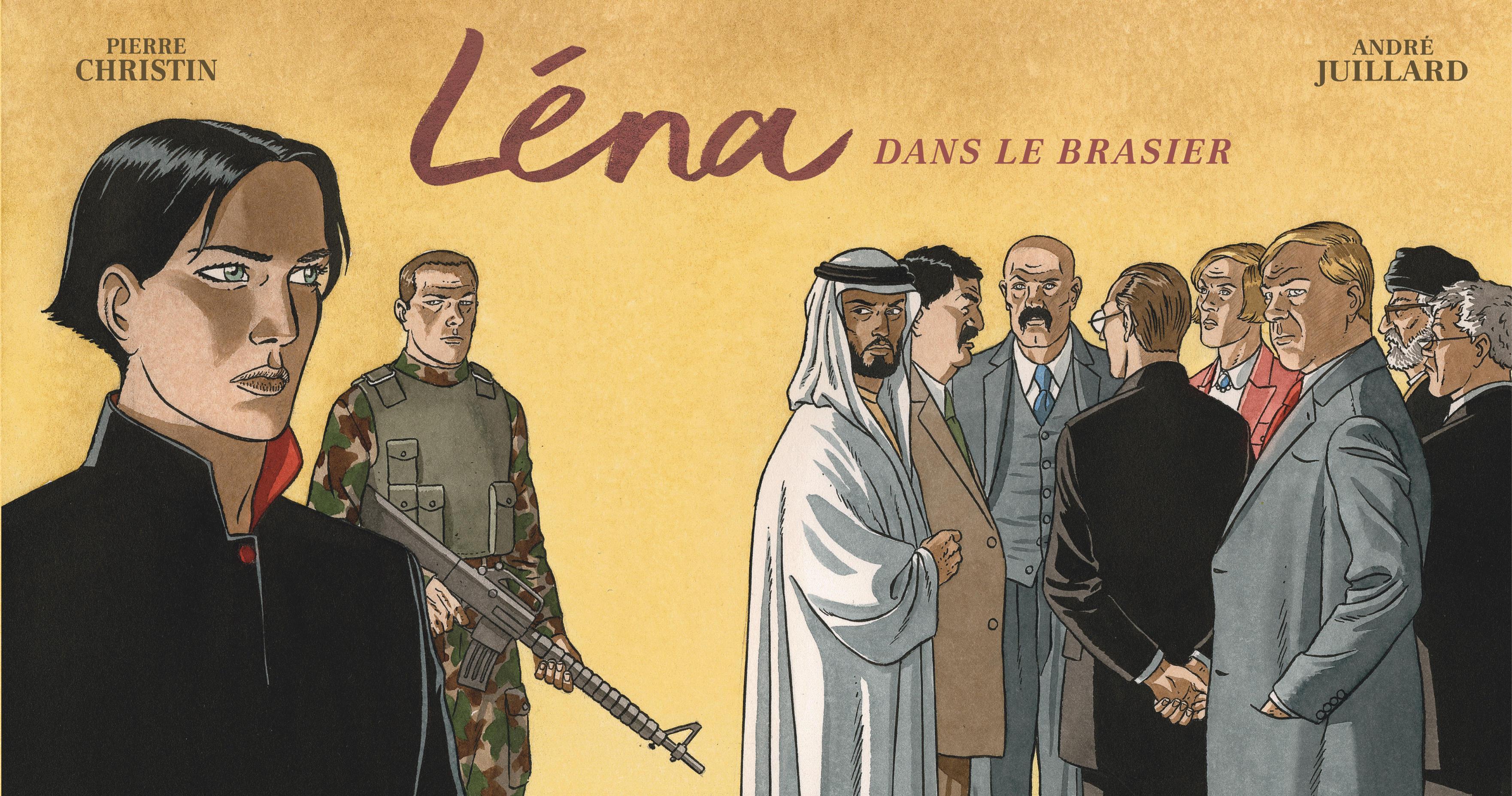LENA - T03 - LENA - LENA DANS LE BRASIER (STRIPS)