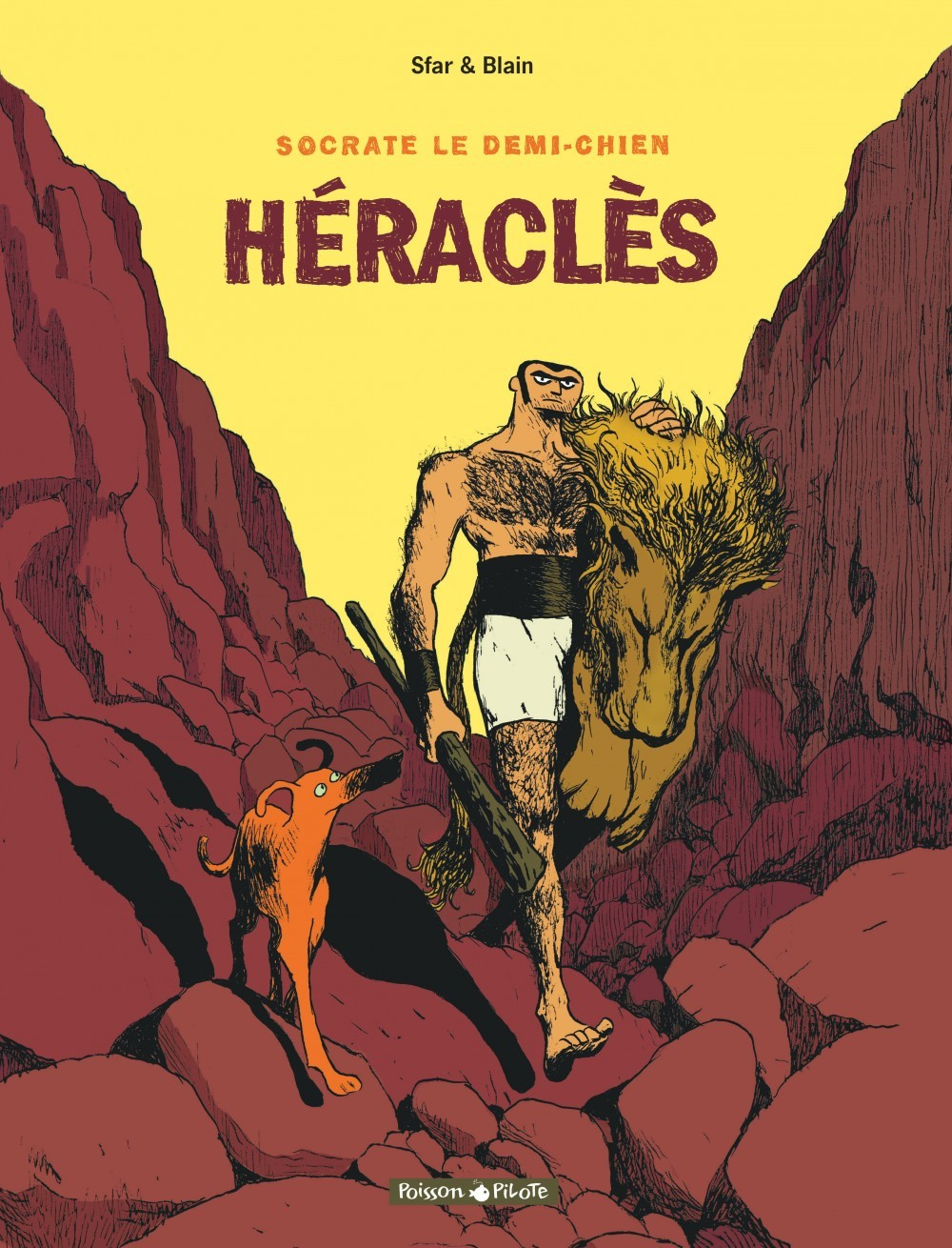 SOCRATE LE DEMI-CHIEN - T1 - HERACLES