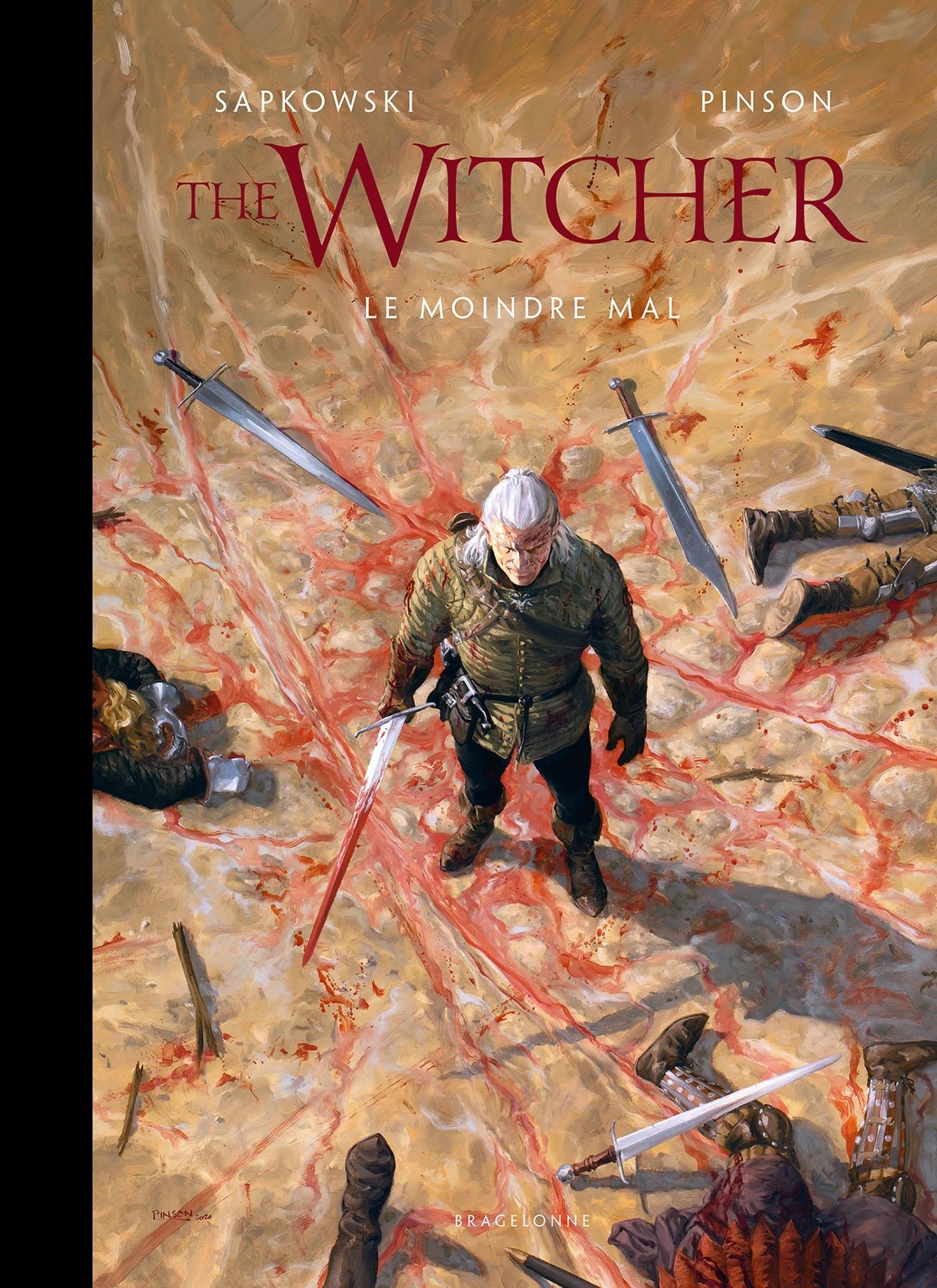 L'UNIVERS DU SORCELEUR (WITCHER) : THE WITCHER ILLUSTRE : LE MOINDRE MAL