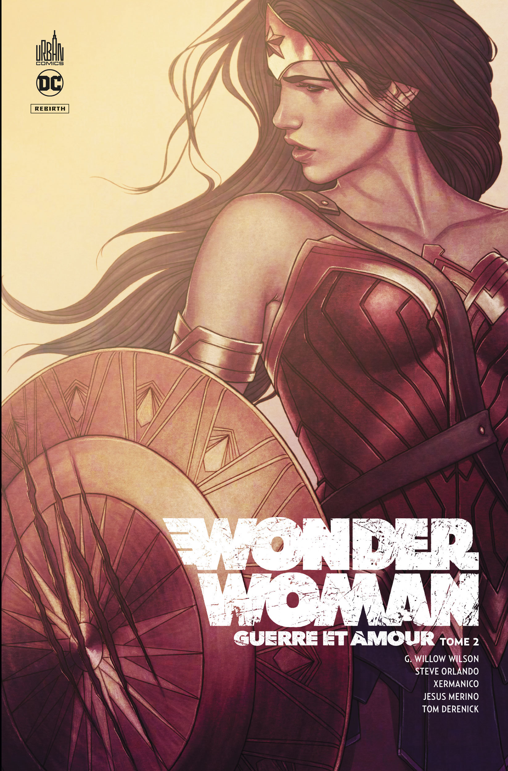 WONDER WOMAN GUERRE & AMOUR - TOME 2