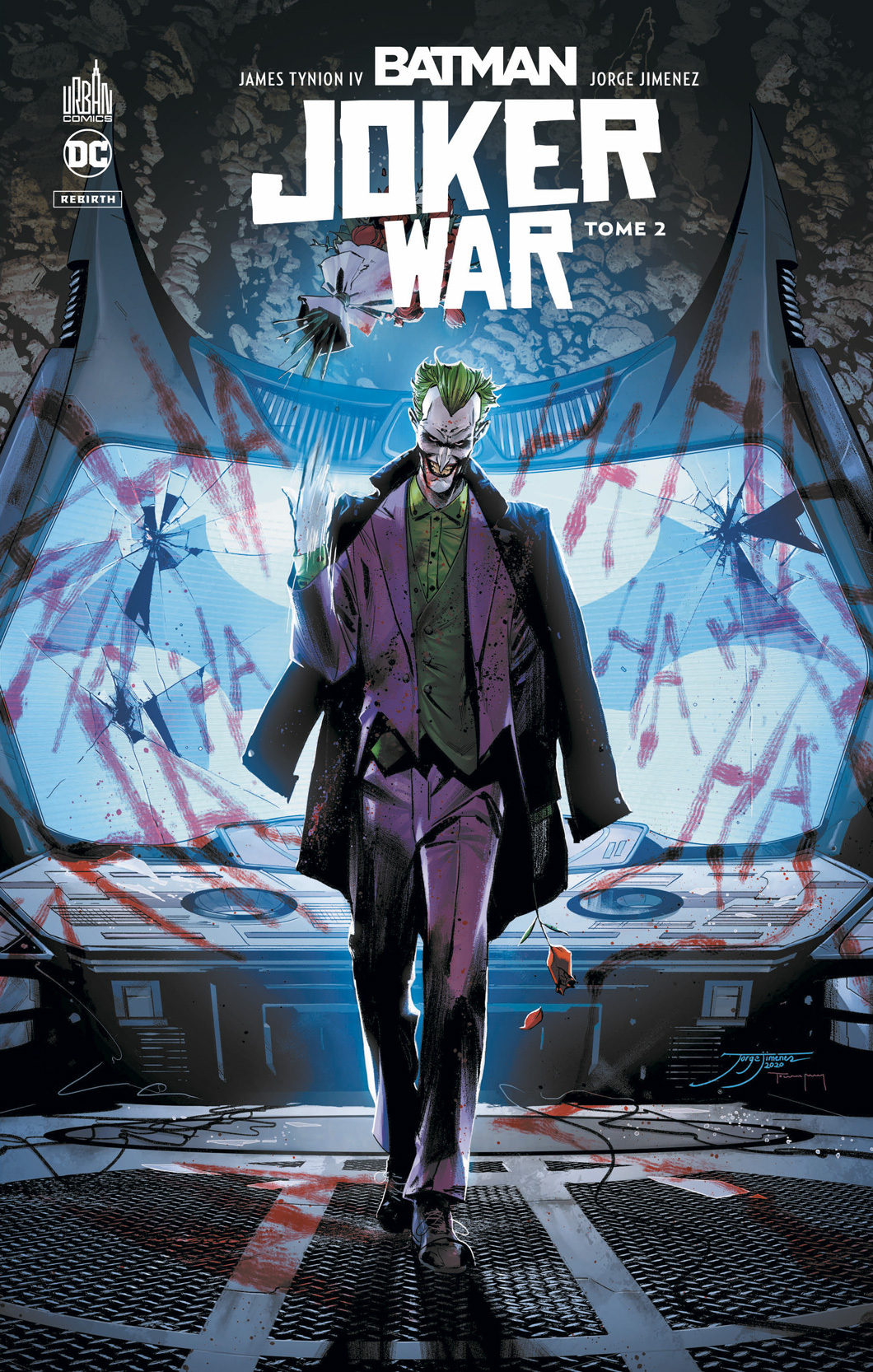BATMAN JOKER WAR TOME 2
