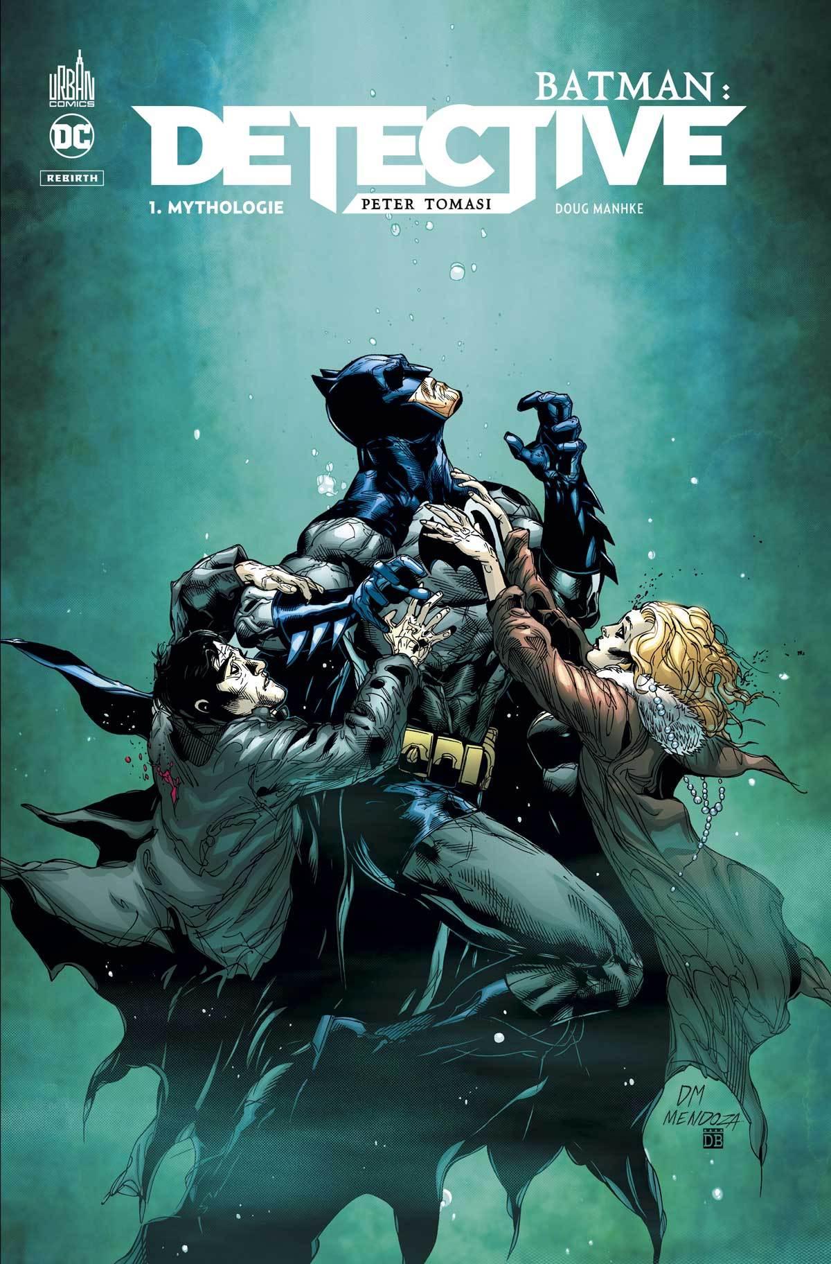 DC REBIRTH - BATMAN : DETECTIVE TOME 1