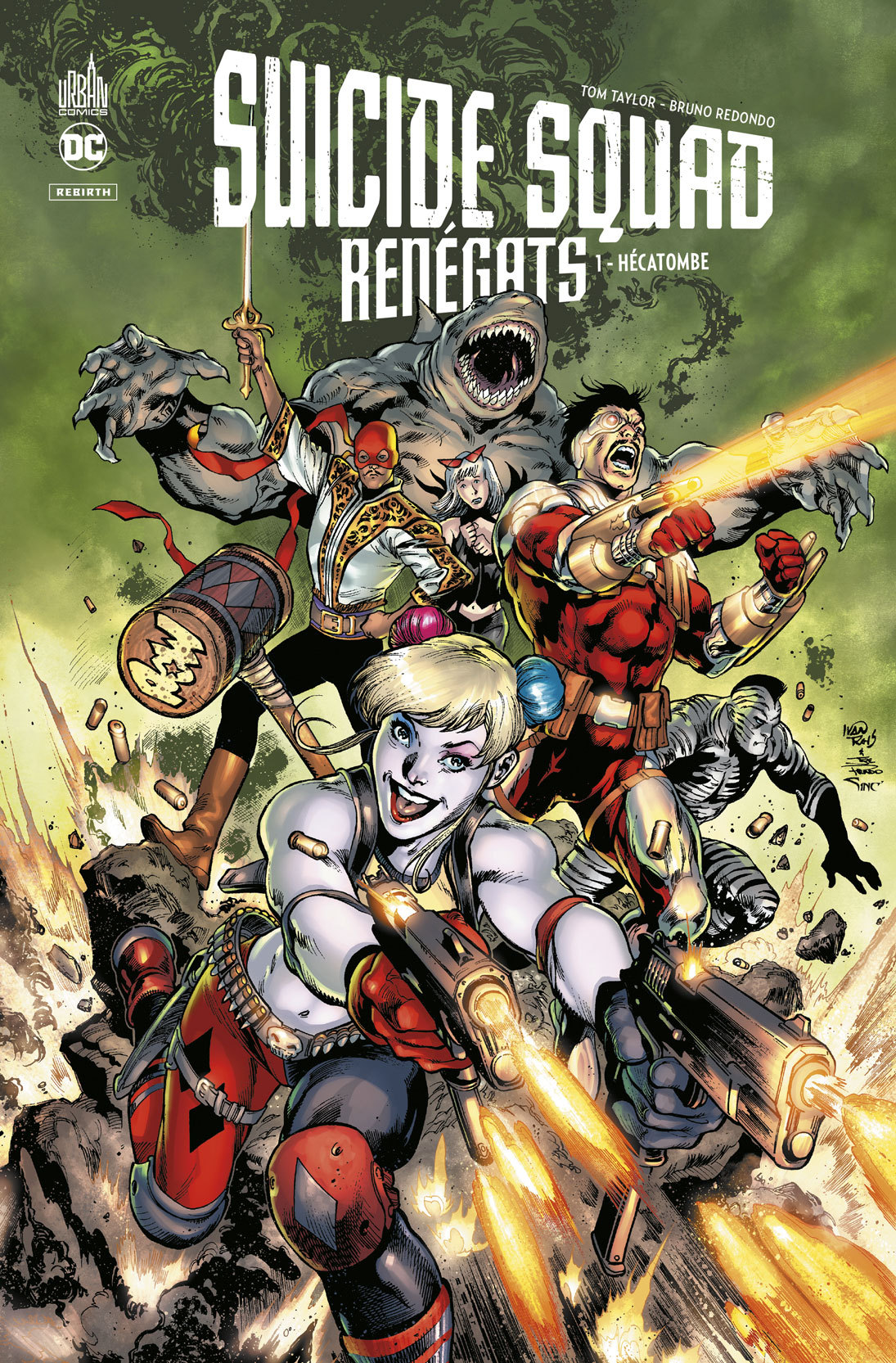 SUICIDE SQUAD RENEGATS TOME 1, TOME 1