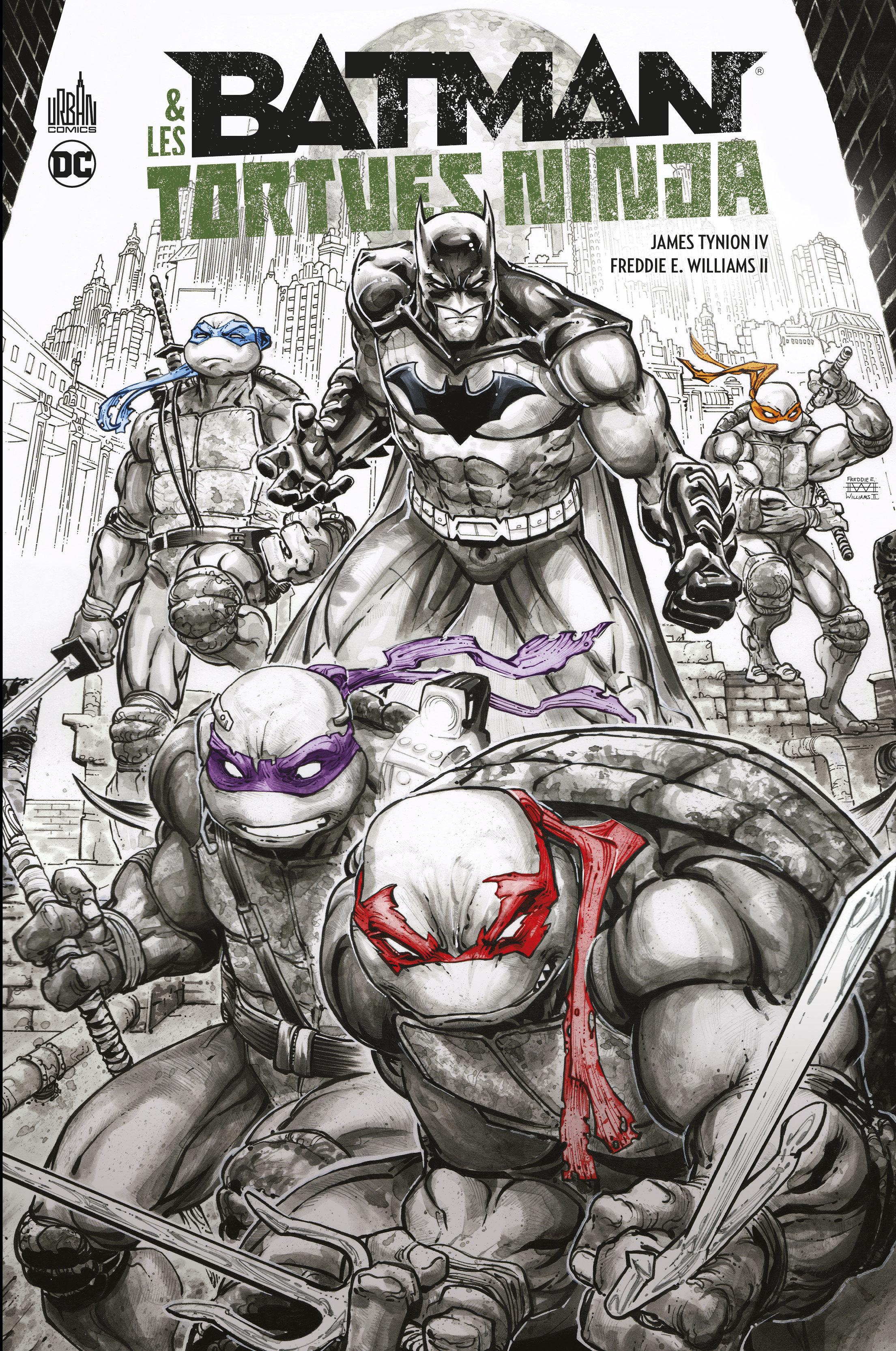 BATMAN & LES TORTUES NINJA EL - BATMAN & LES TORTUES NINJA EDITION LIMITEE - TOME 0