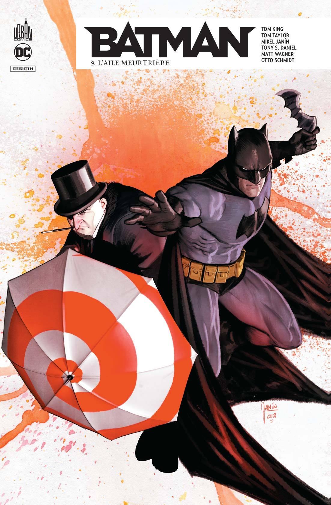 DC REBIRTH - BATMAN REBIRTH TOME 9