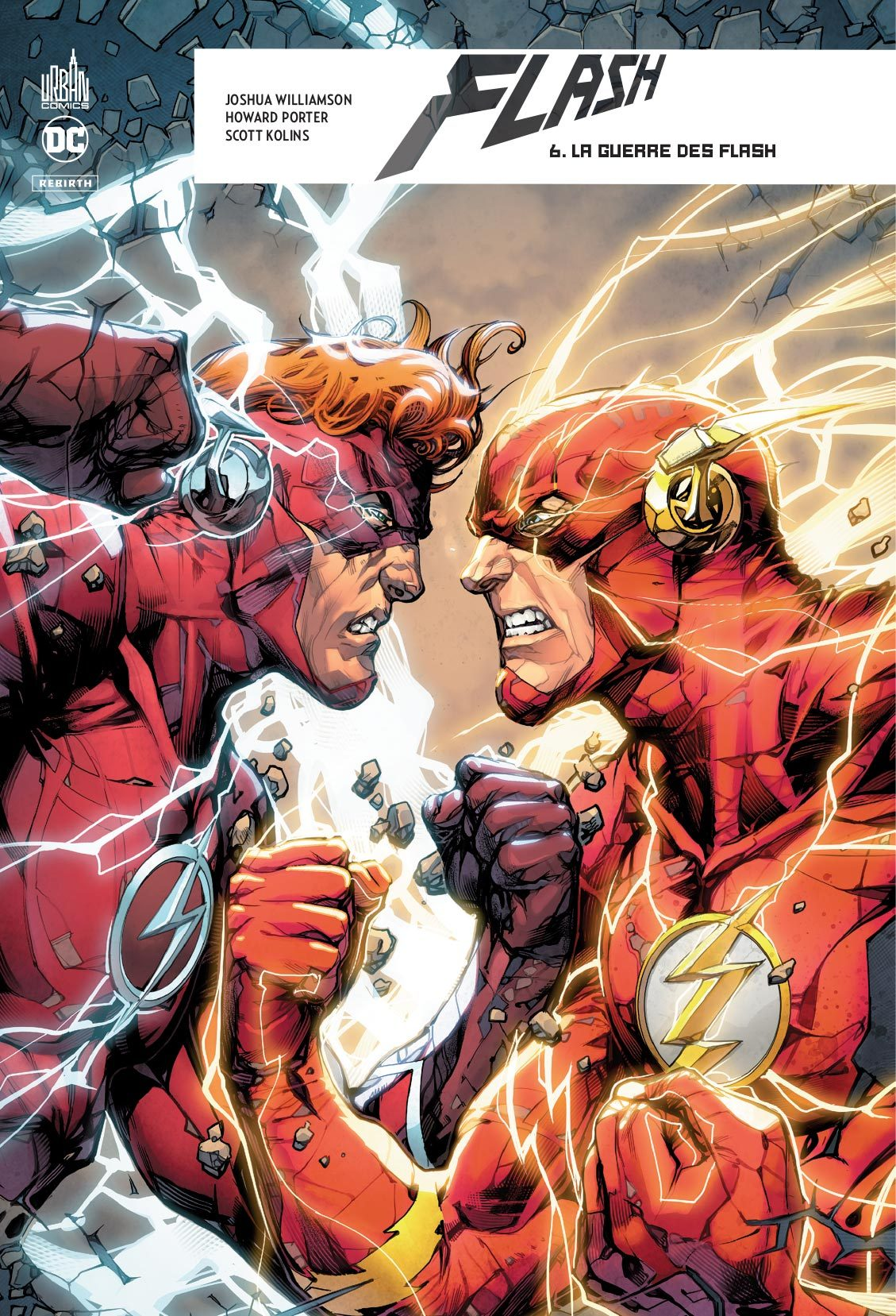 DC REBIRTH - FLASH REBIRTH TOME 6