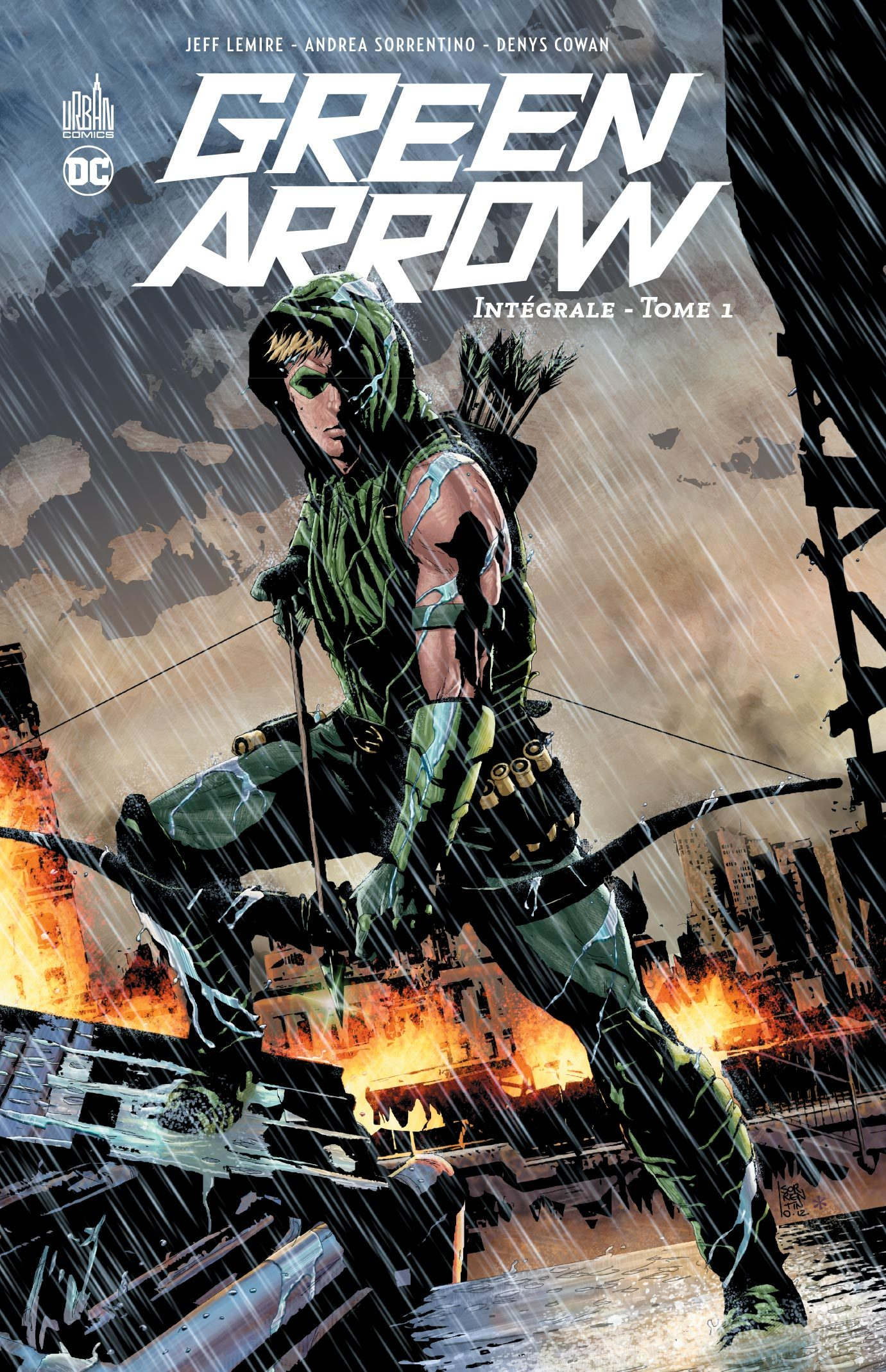GREEN ARROW INTEGRALE TOME 1
