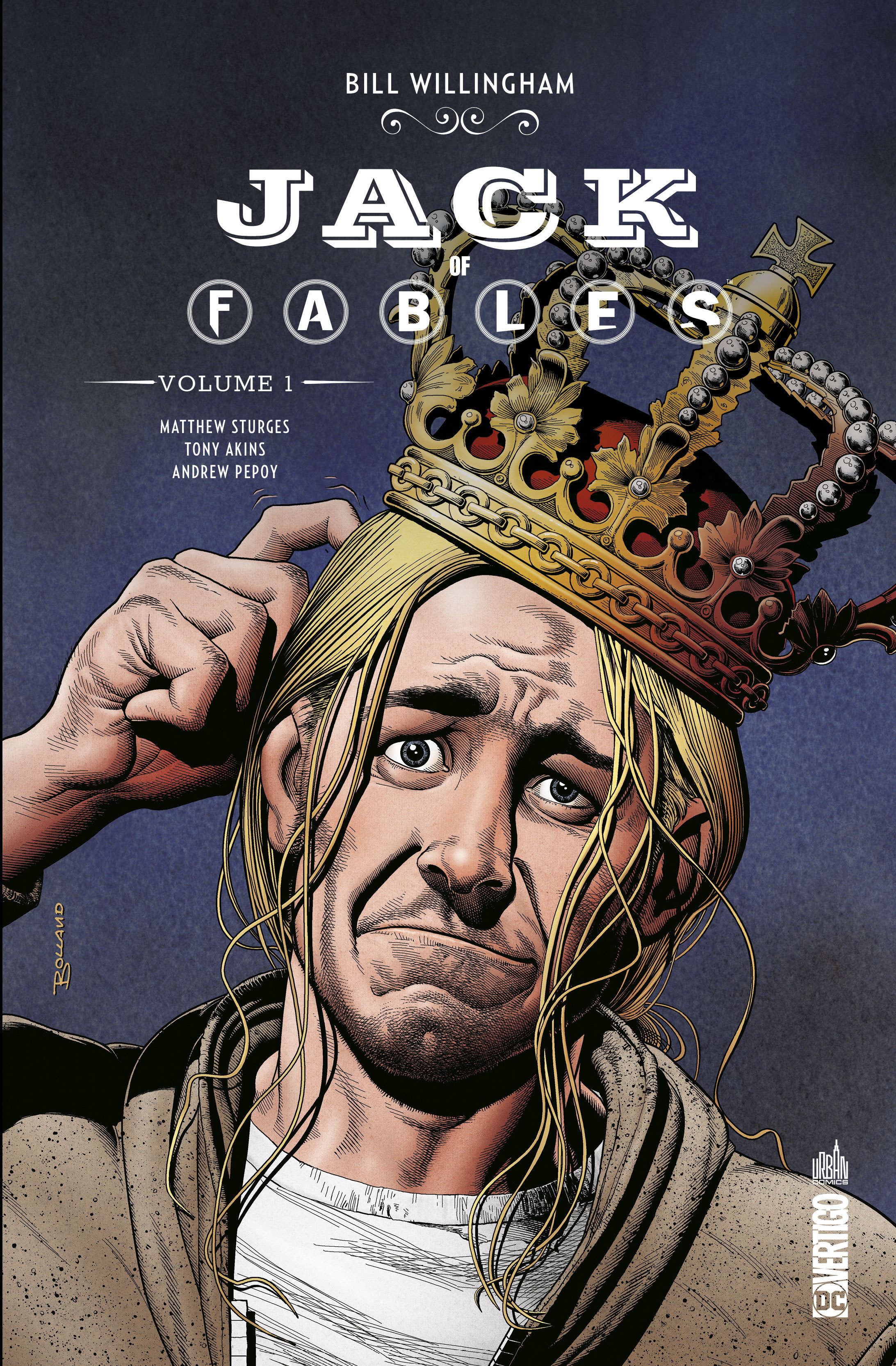 VERTIGO ESSENTIELS - JACK OF FABLES TOME 1