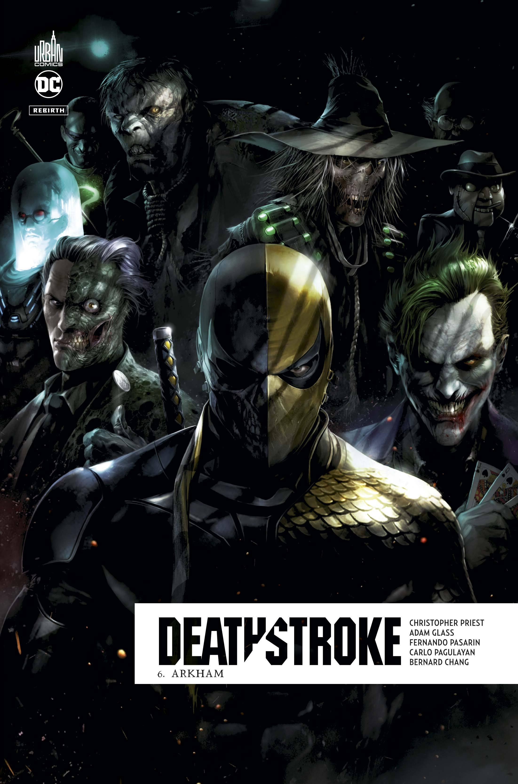 DEATHSTROKE REBIRTH  - TOME 6