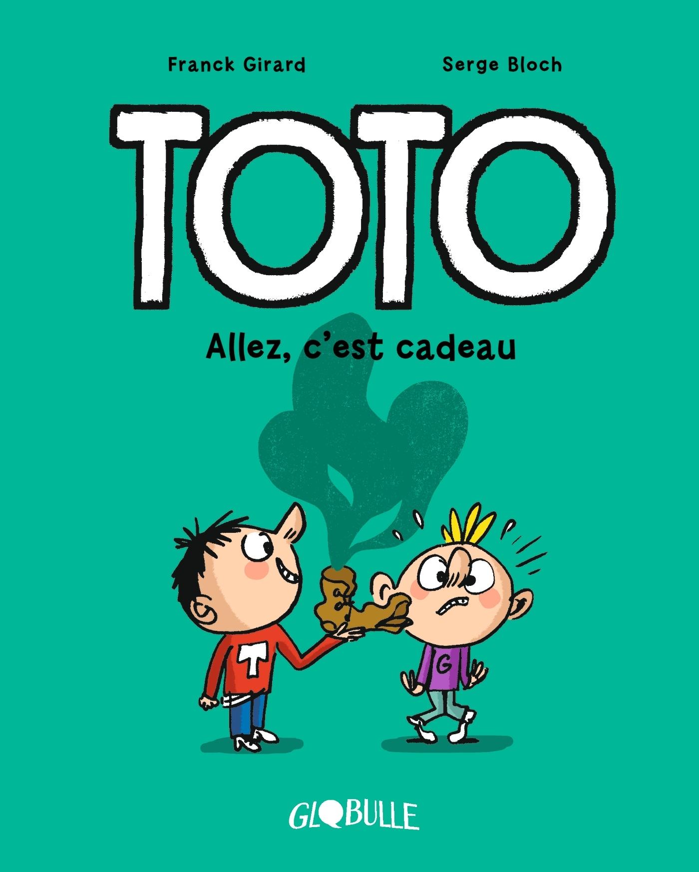 TOTO BD, TOME 02 - ALLEZ, C'EST CADEAU !