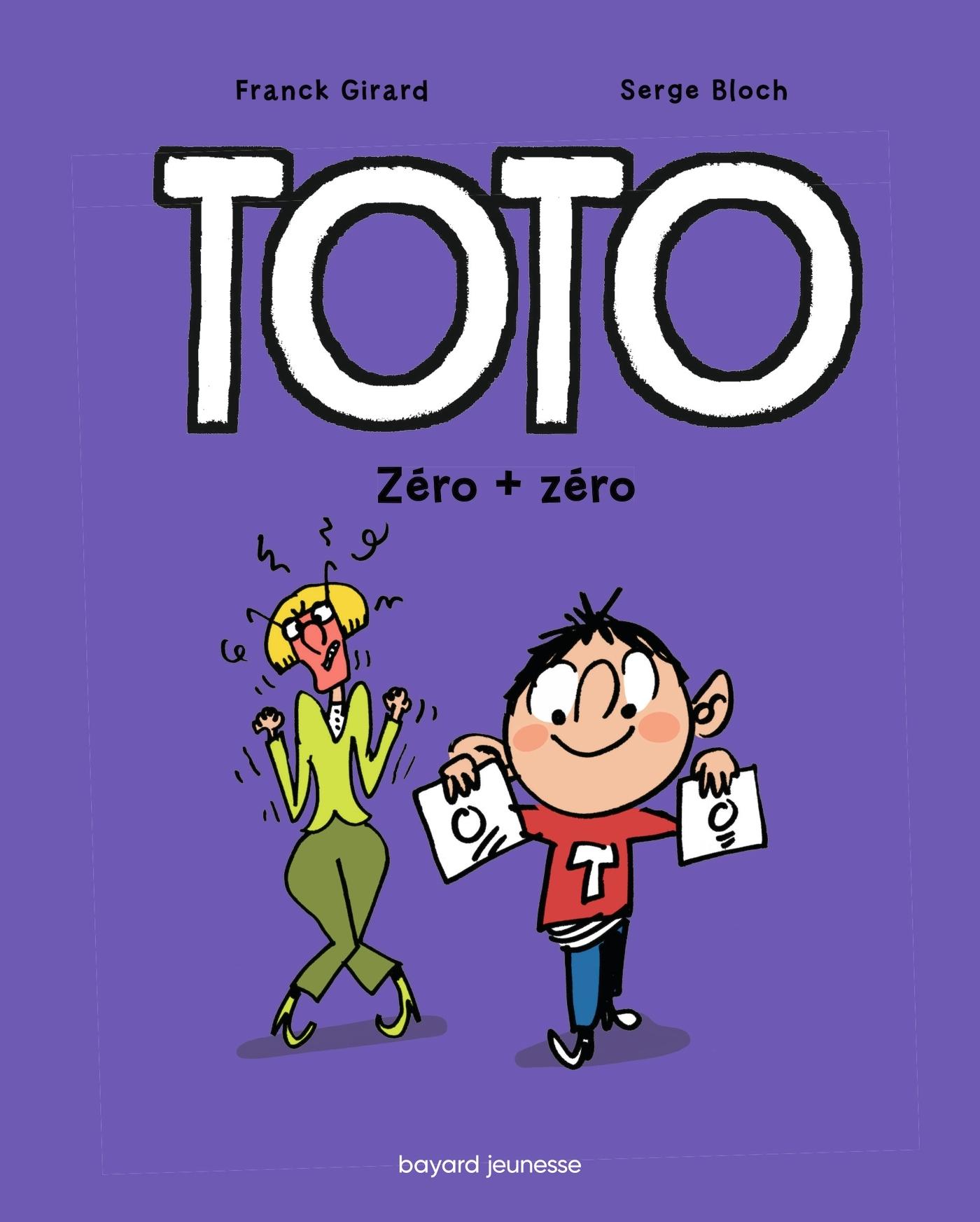 TOTO BD, TOME 05 - ZERO + ZERO